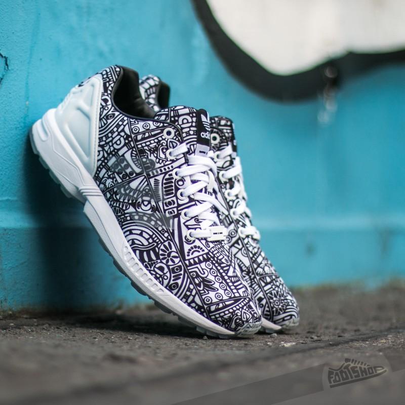 adidas Zx Flux Ftw White Ftw White Core Black | Footshop