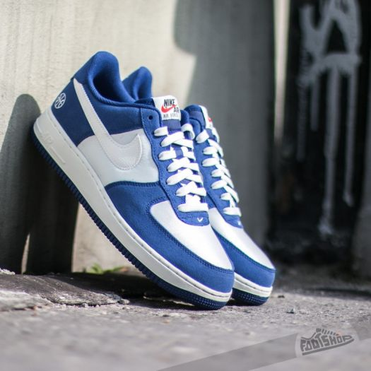 Nike Air Force 1 Deep Royal Blue Sail Phantom | Footshop