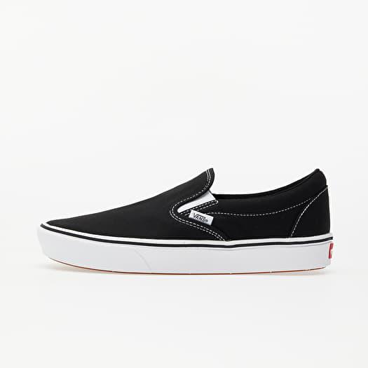 Vans ComfyCush Slip-On (Classic) Black/ True White | Footshop