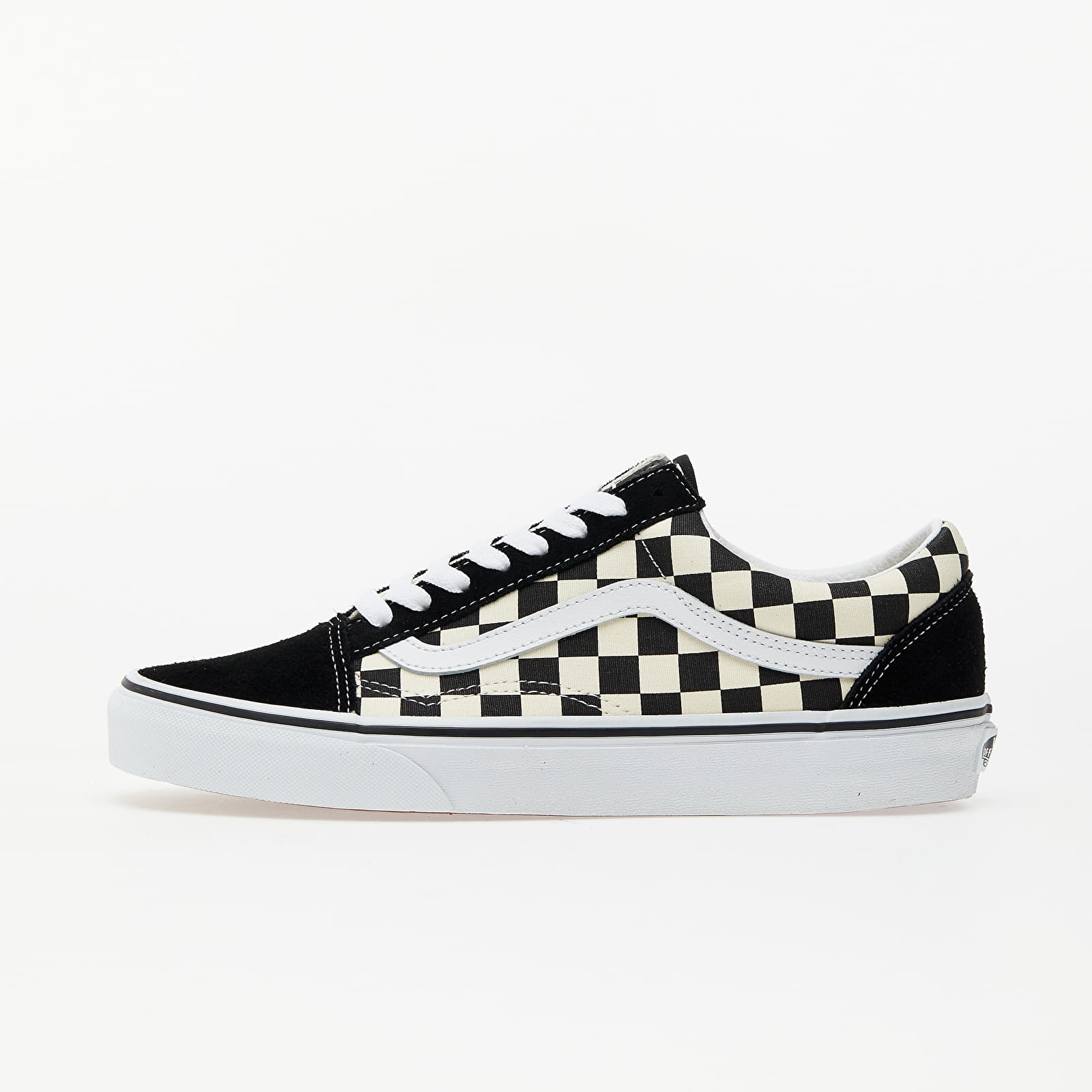 Ανδρικά παπούτσια Vans Old Skool (Primary Check) Blk/ White