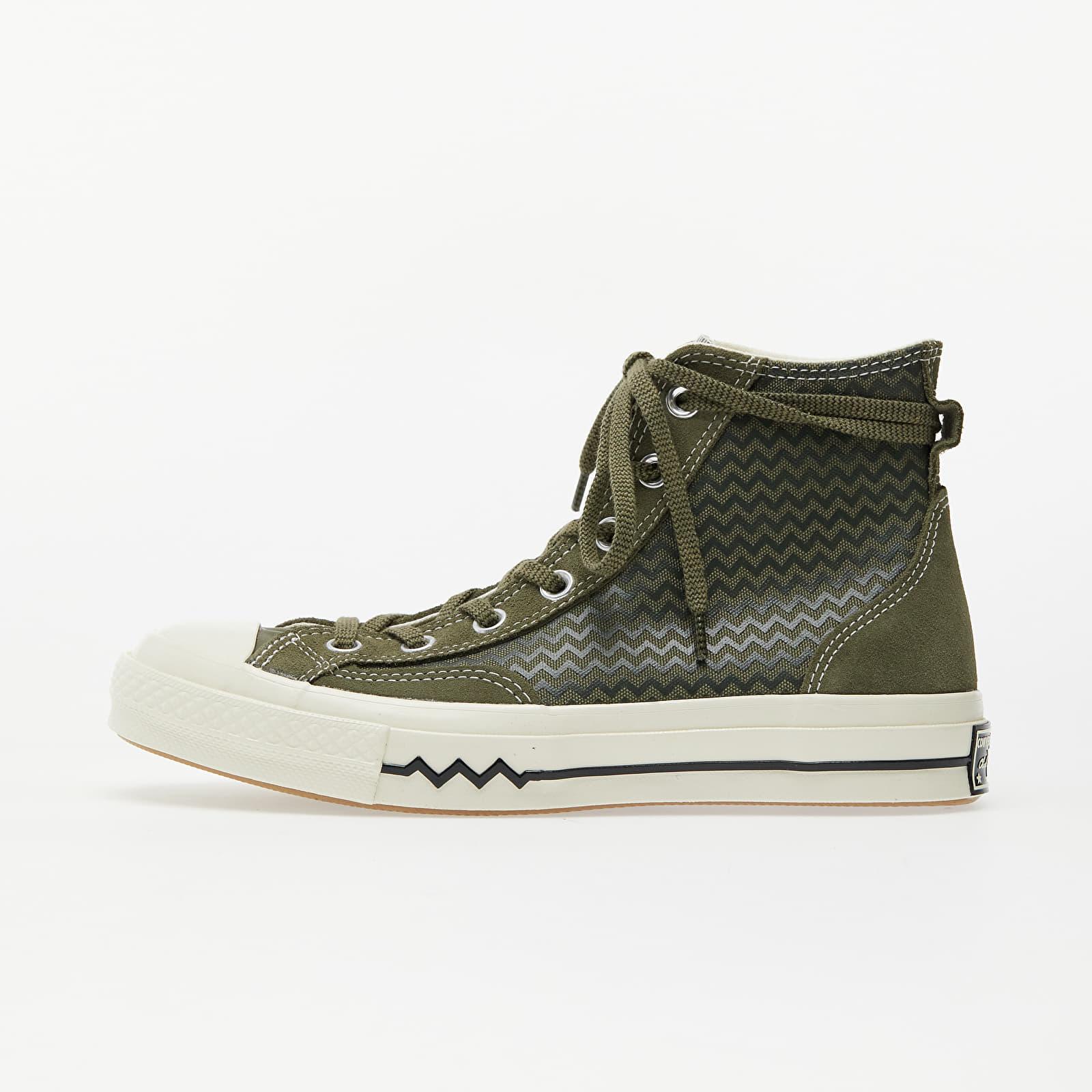 Жіноче взуття Converse Chuck 70 Vltg Suede Overlay Utility Green/ Field Surplus