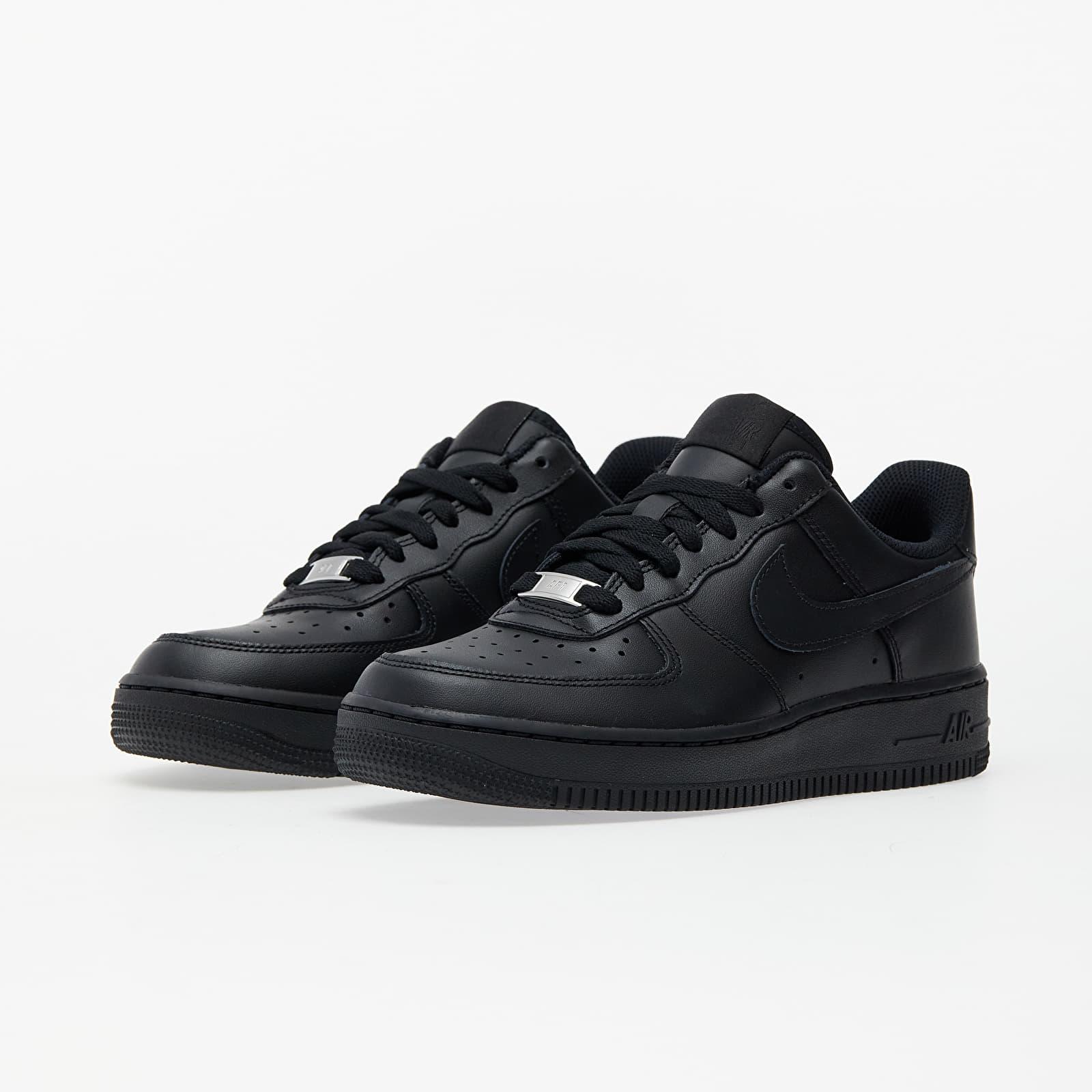 Women's shoes Nike Wmns Air Force 1 '07 Black/ Black | Footshop
