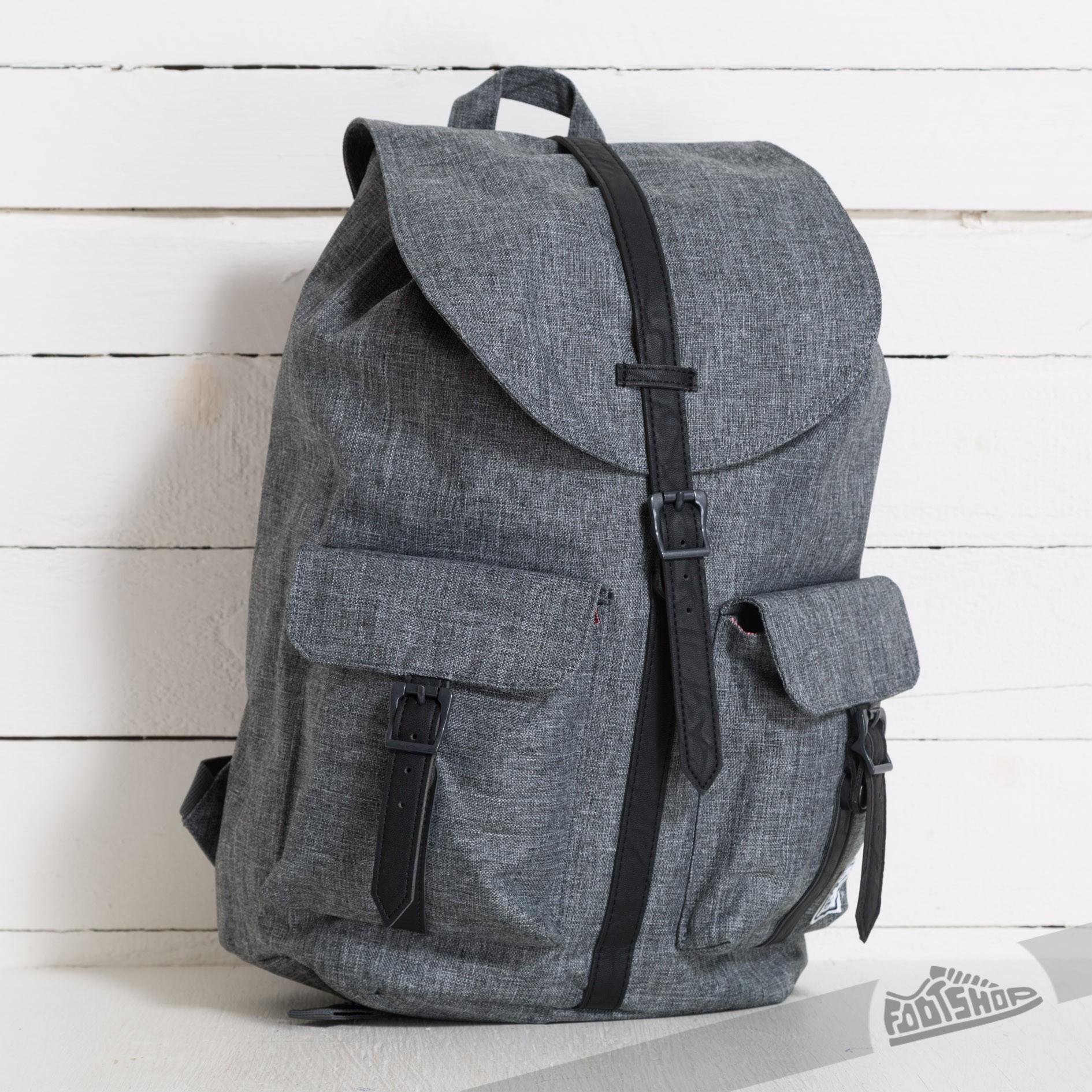 0b411464208 Herschel Supply Co. Dawson Backpack Raven Crosshatch