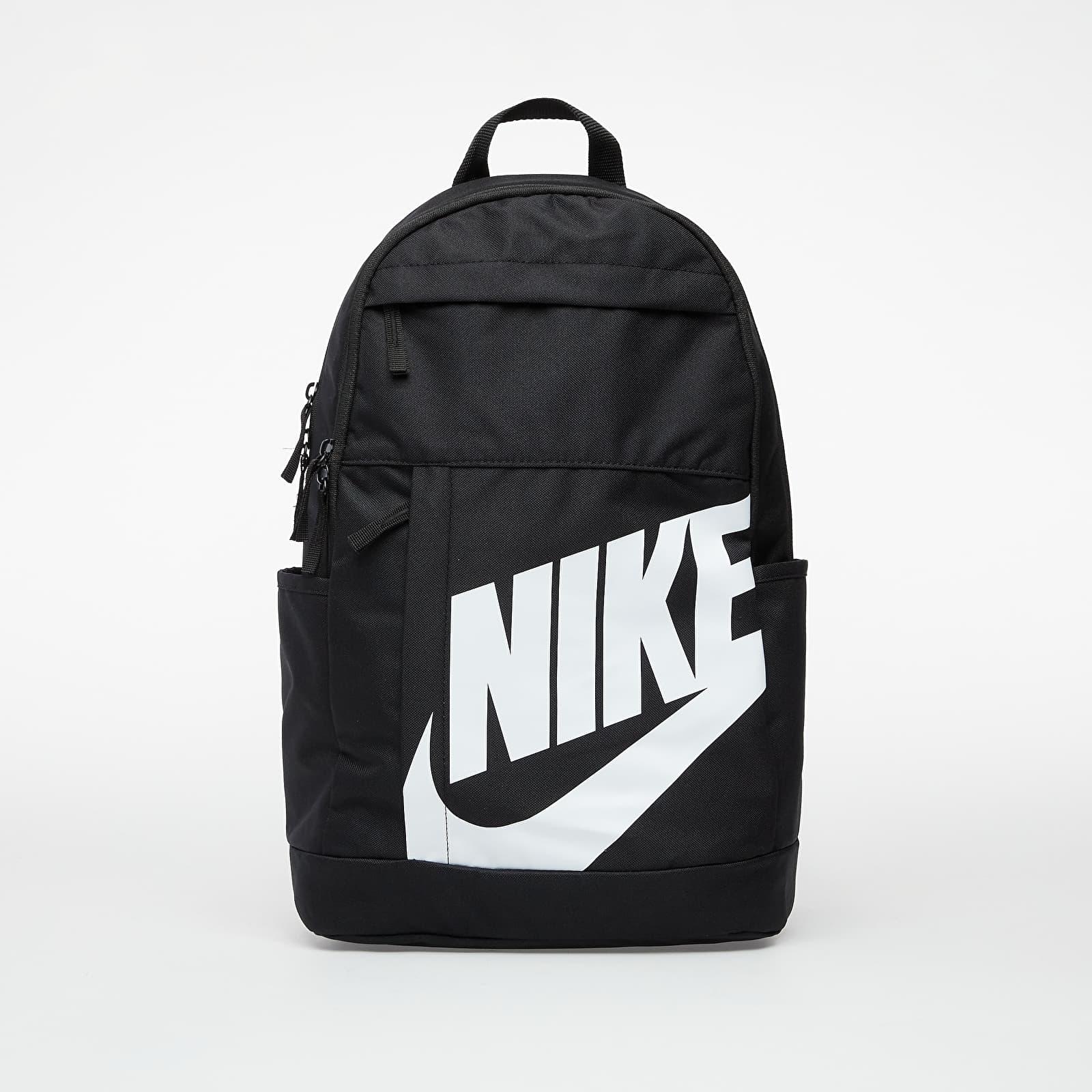 Nike Elemental Backpack Black/ Black/ White 21 litrov