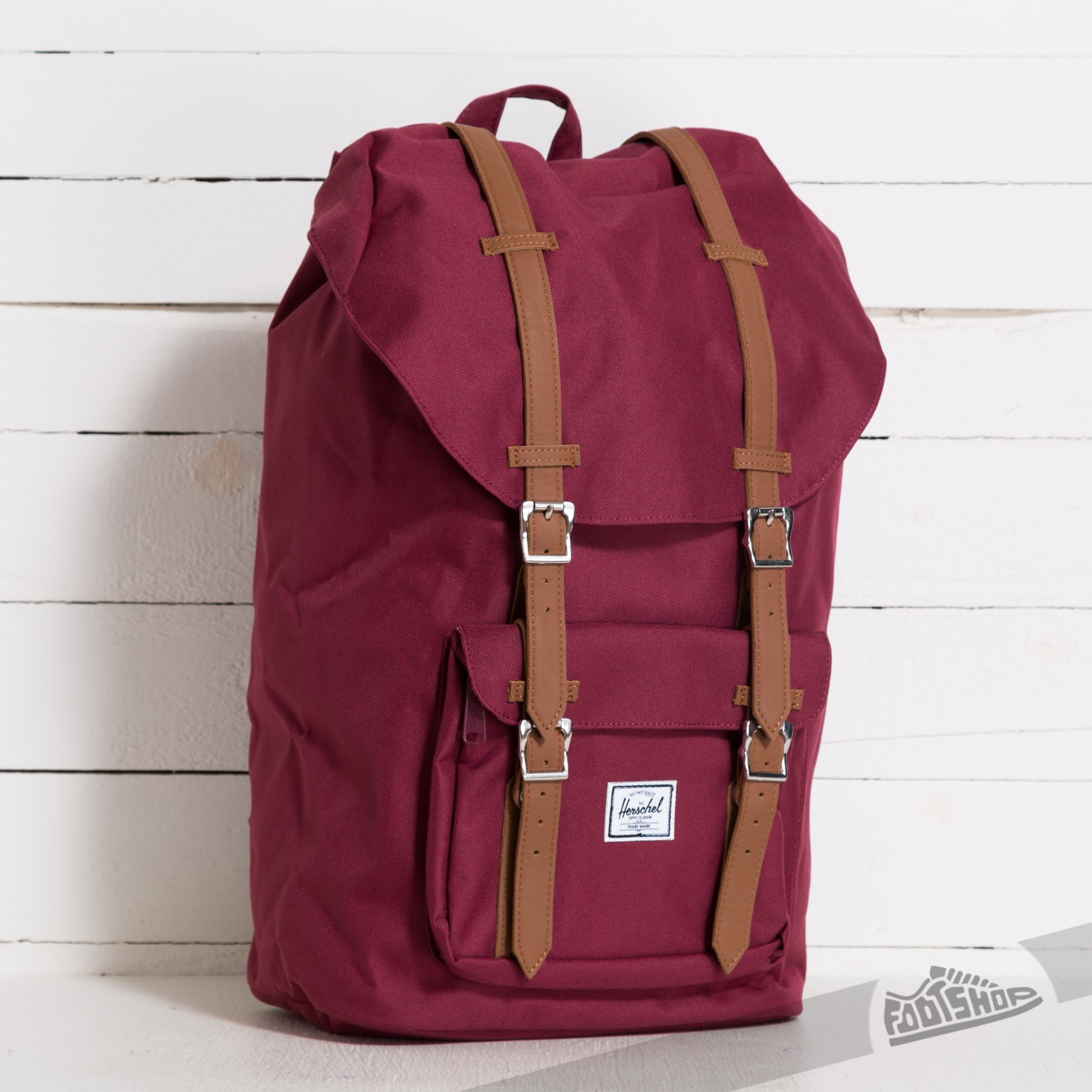 f7740e21d45 Herschel Supply Co. Little America Backpack Windsor Wine Tan ...