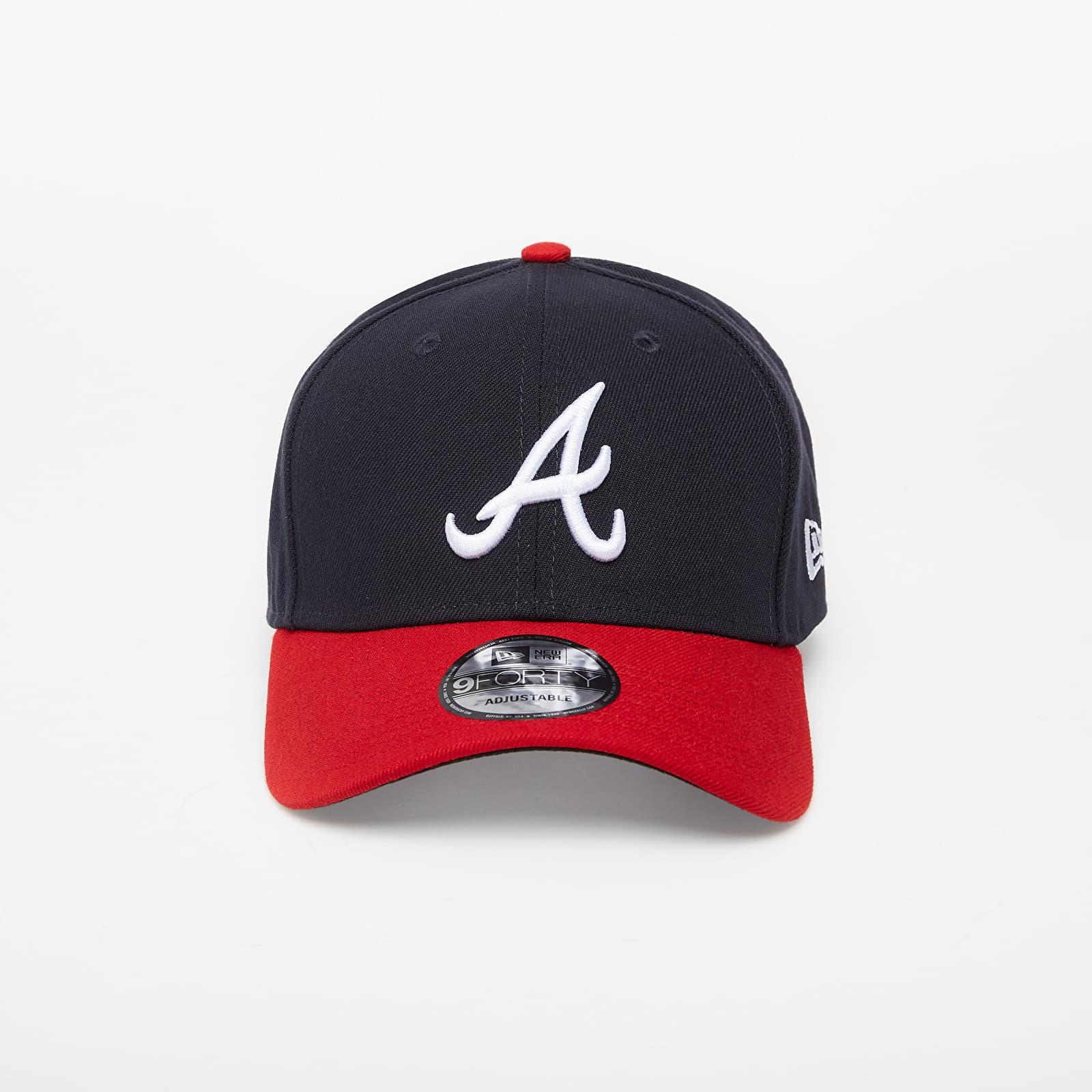 Caps New Era 9Forty The League Atlanta Braves Cap Navy