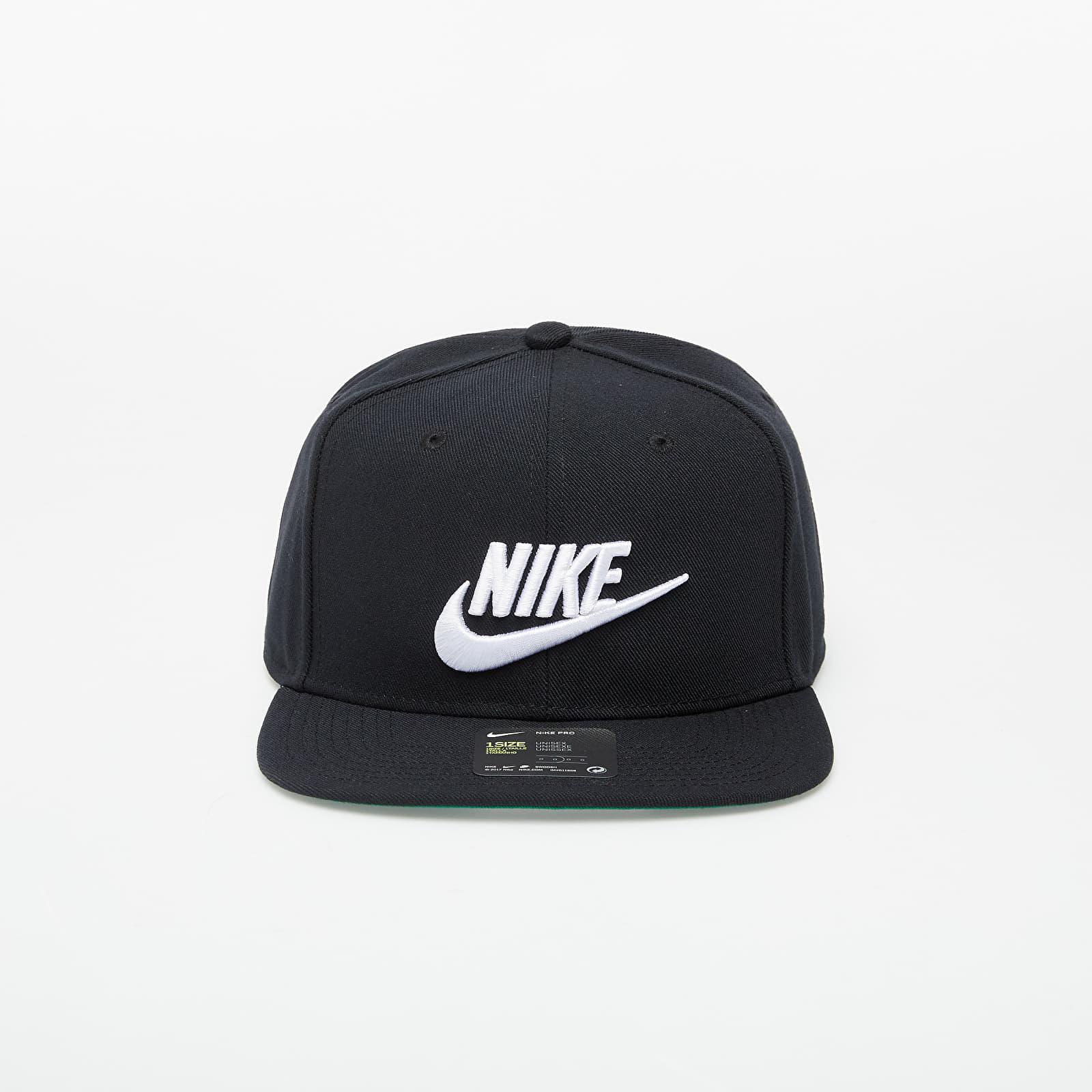 Caps Nike Sportswear Futura Pro Cap Black/ White