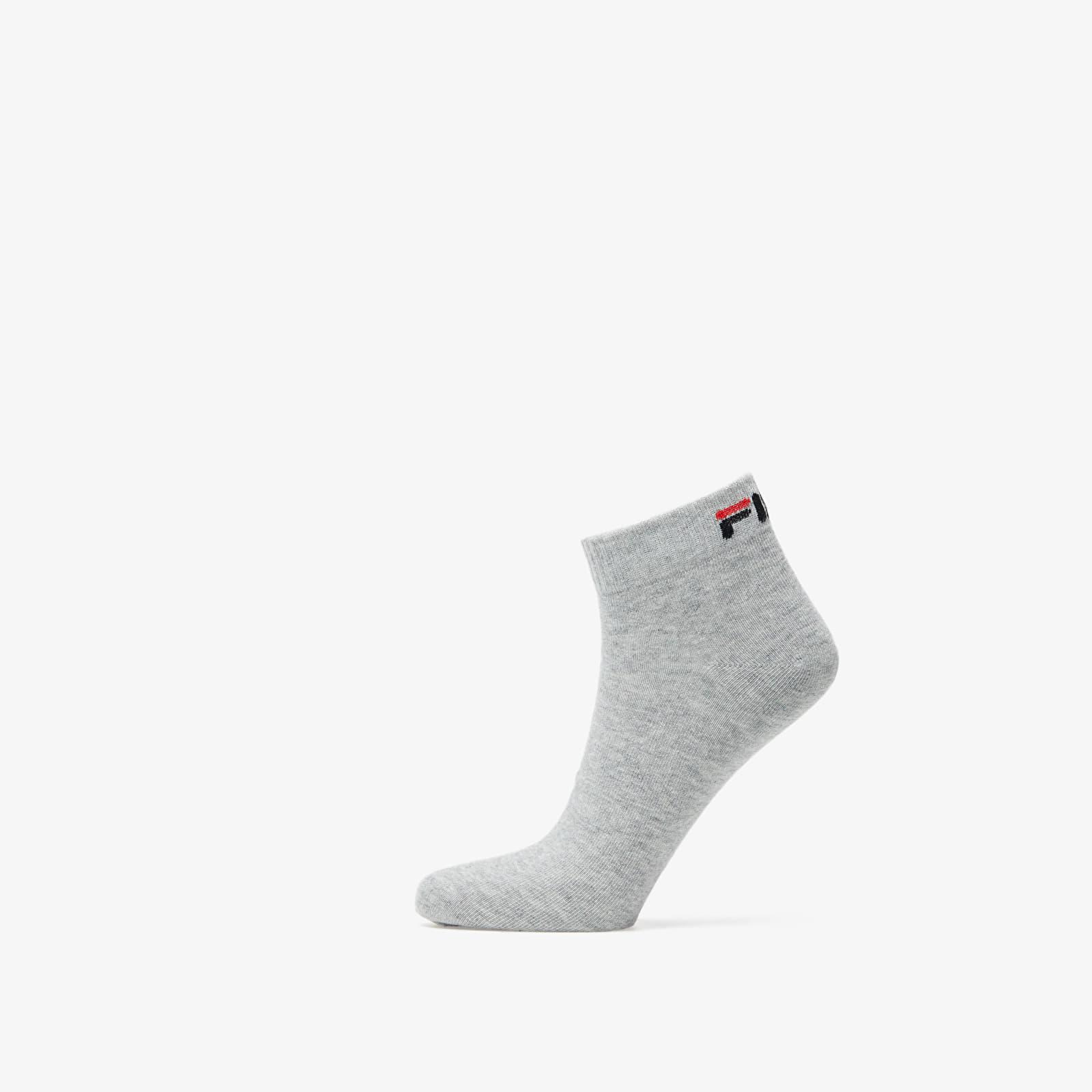 Zoknik FILA Calza Socks White/ Grey/ Black