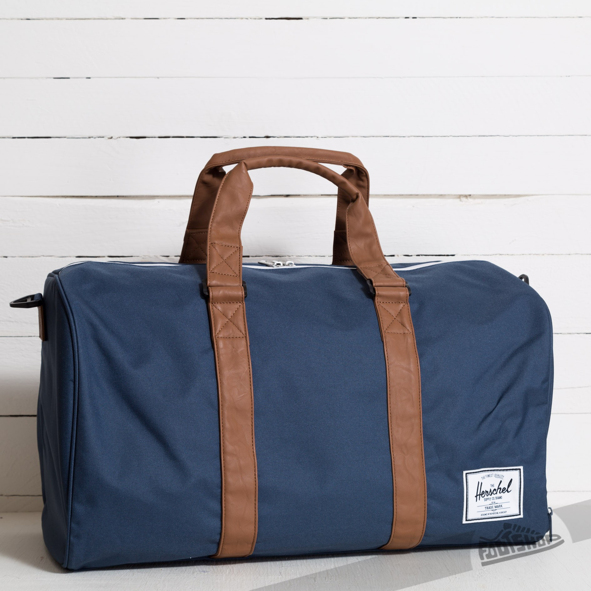 c1a5f1490a Herschel Supply Co. Novel Duffle Navy Tan