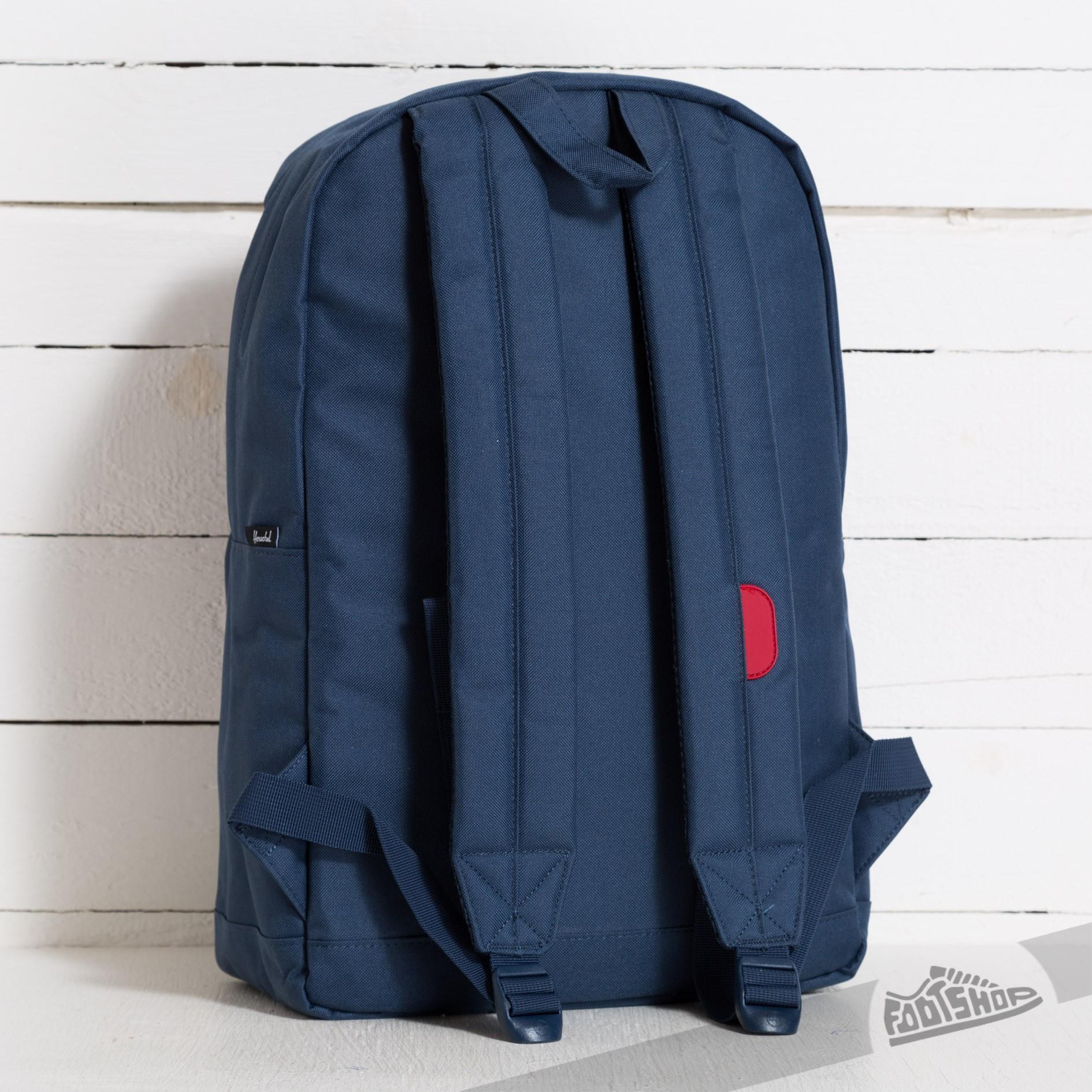 458d75a49a0 Herschel Supply Co. Pop Quiz Backpack Navy/Red | Footshop