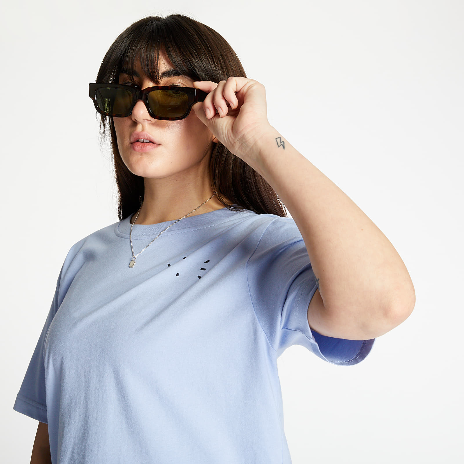 T-shirts McQ Relaxed Tee Blue