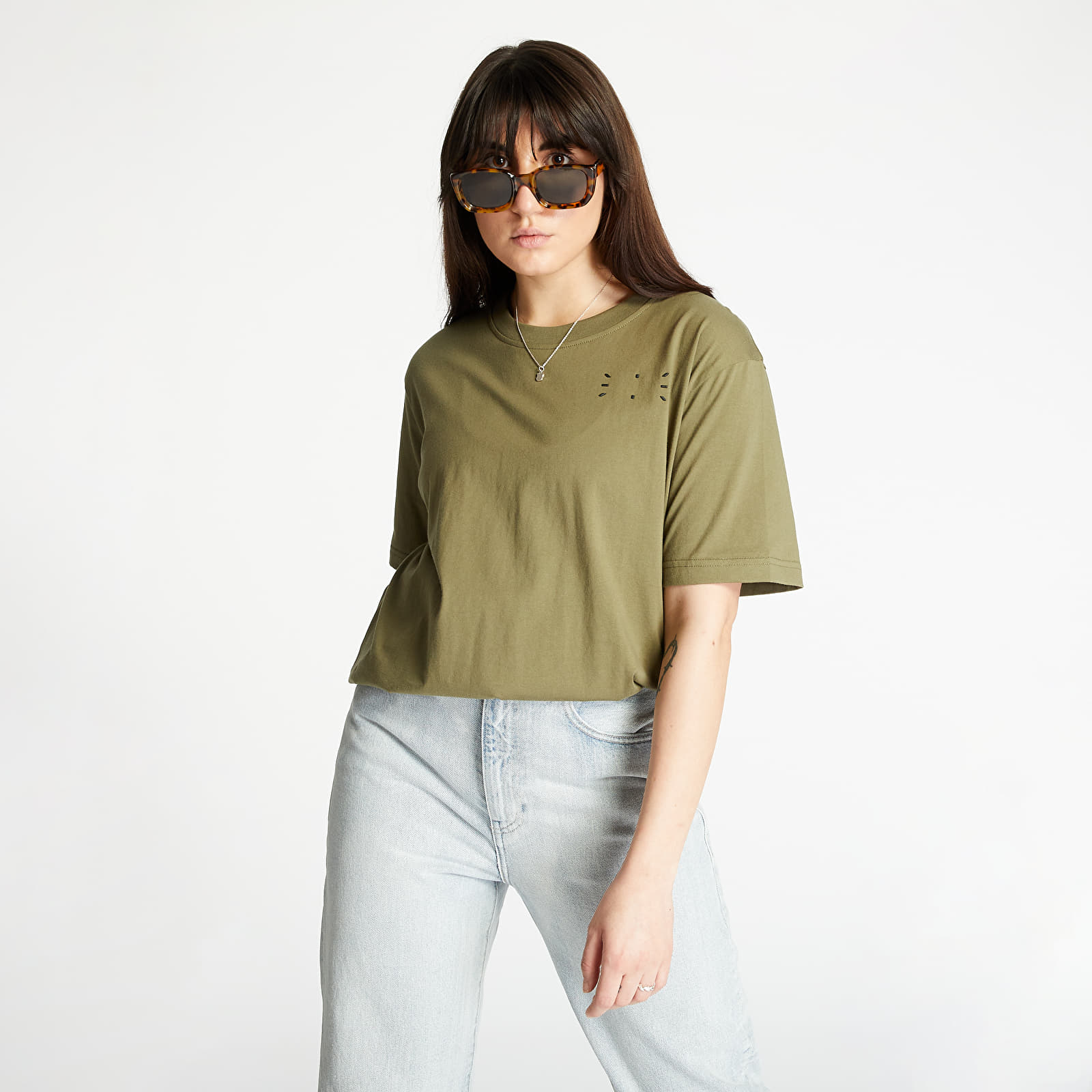 T-shirts McQ Relaxed Tee Green