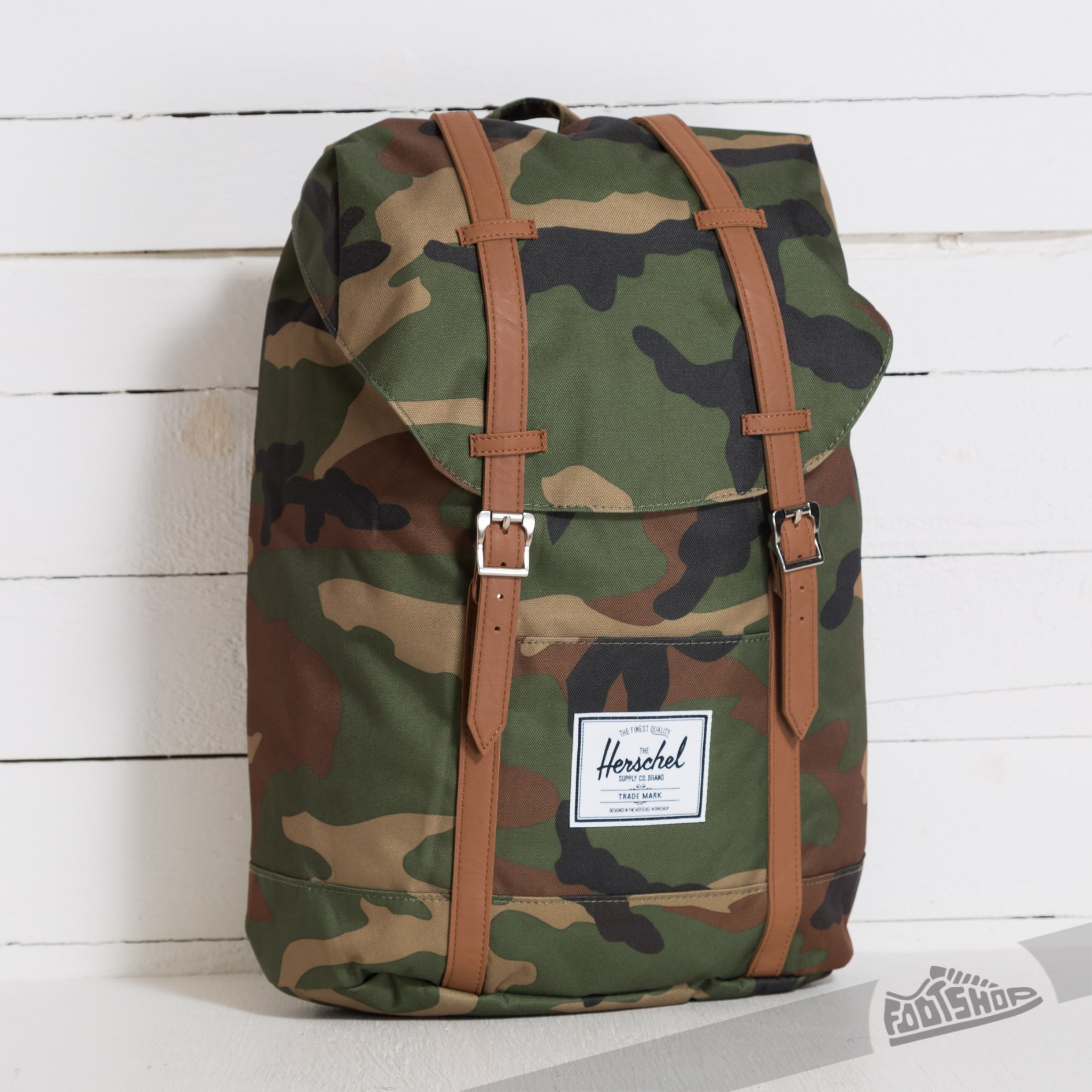 Herschel Supply Co. Retreat Backpack Woodland Camo   Footshop a3c700dc6e