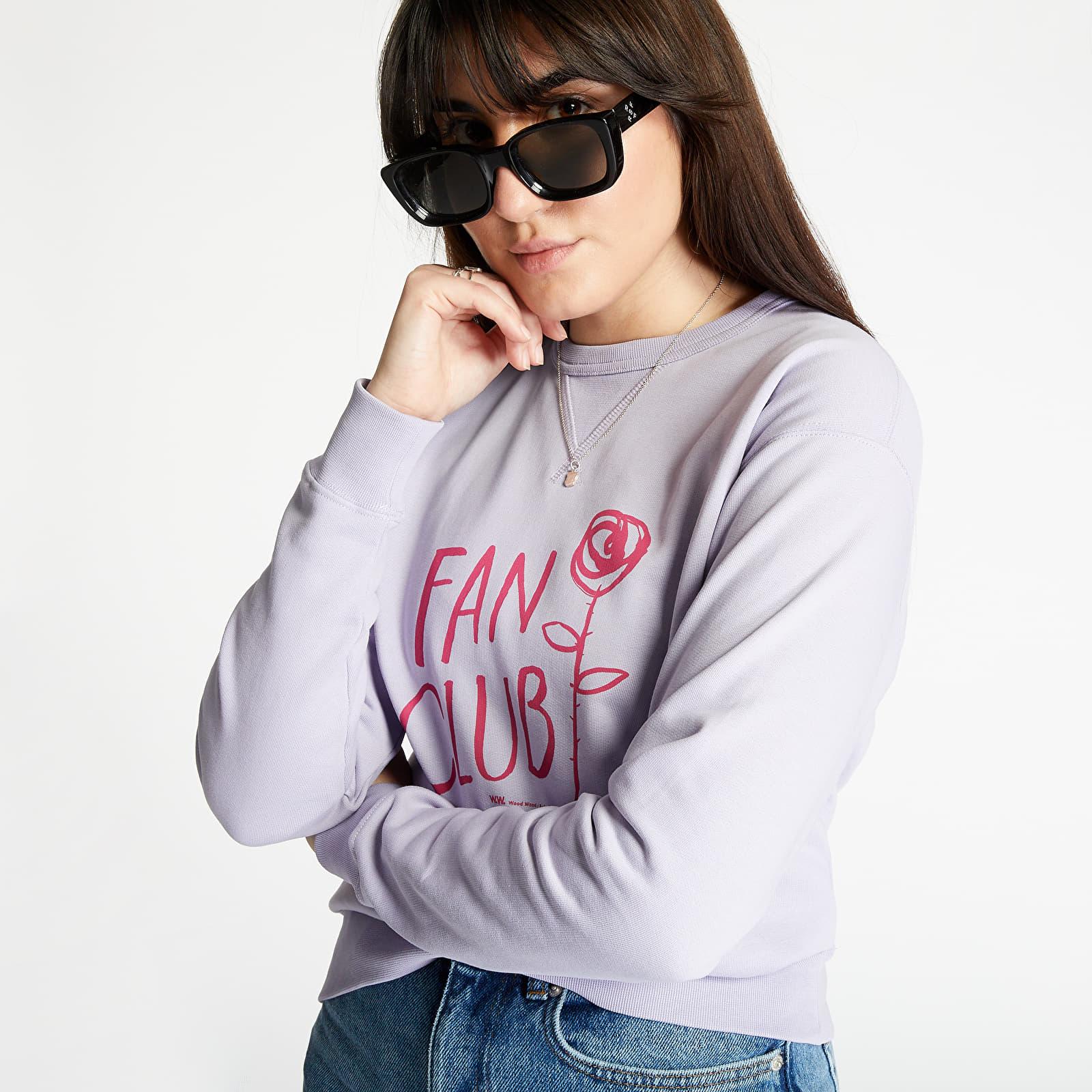 Sweatshirts WOOD WOOD Flora Sweatshirt Crewneck Light Purple