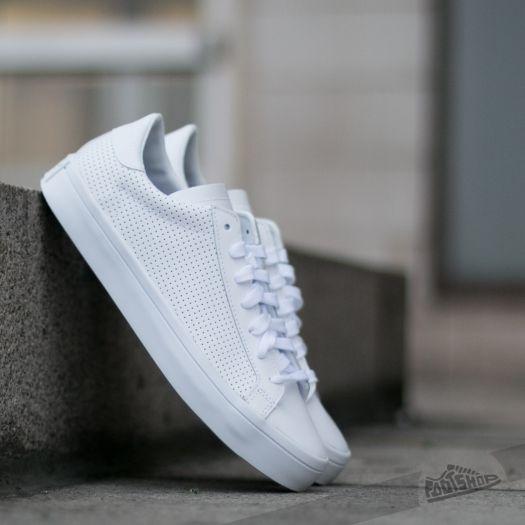 mens adidas court vantage white