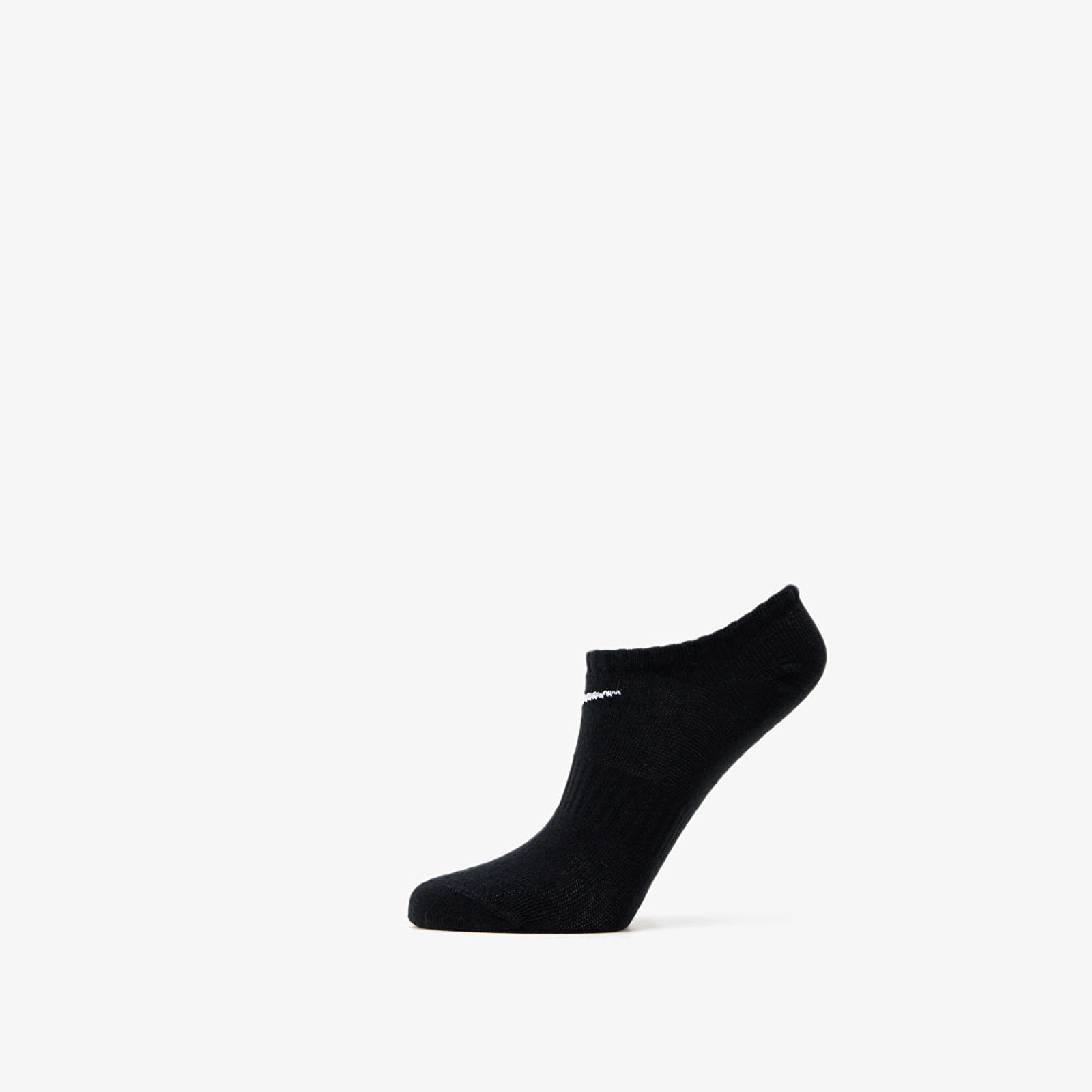 Nogavice Nike Everyday Cotton Lightweight No Show Socks 3 Pack Black