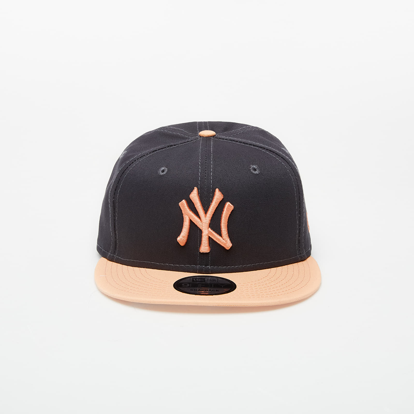 Baseball sapkák New Era 9Fifty NFL Pre Curved New York Yankees Cap Grey/ Peach