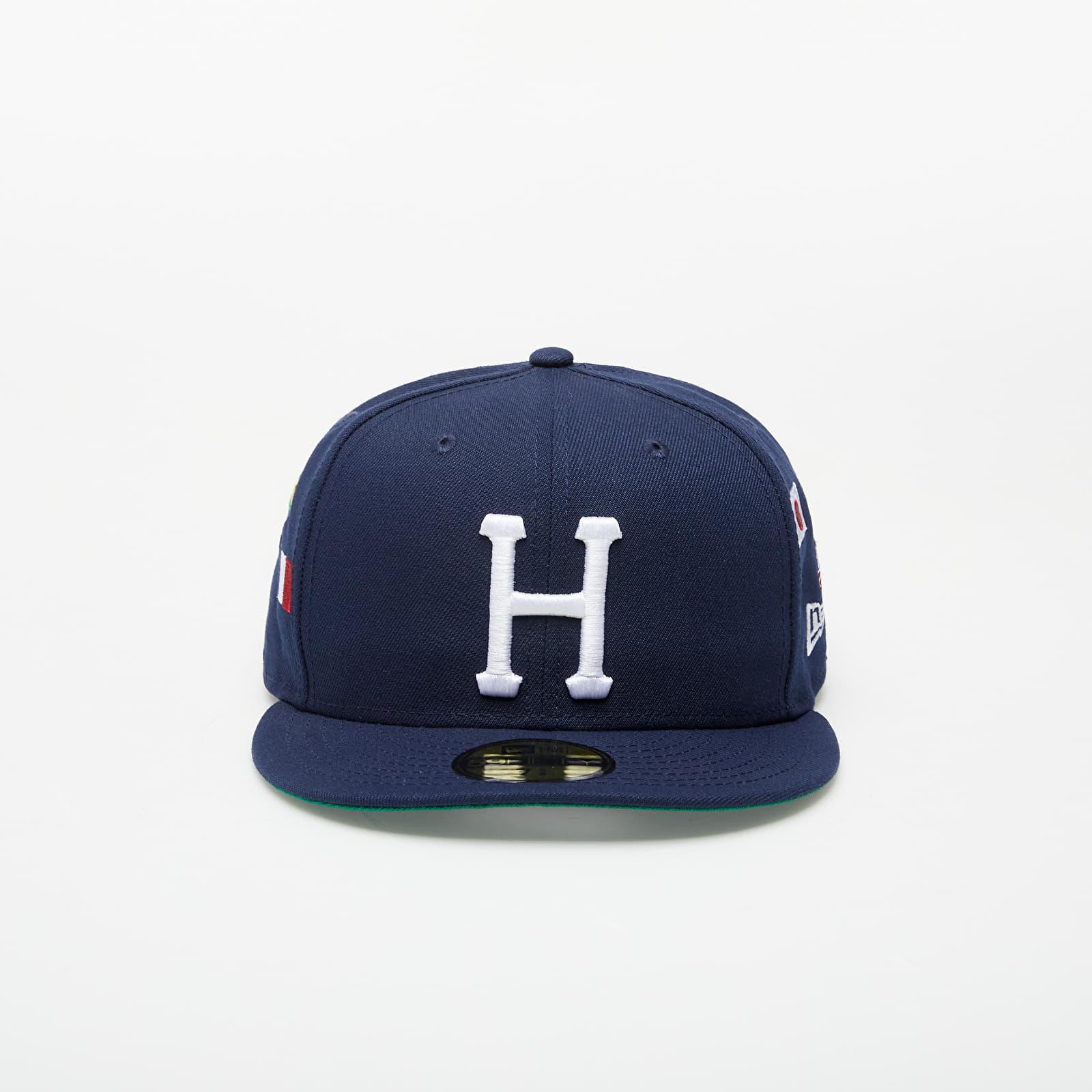 Caps HUF x New Era Worl Tour Hat Dark Navy