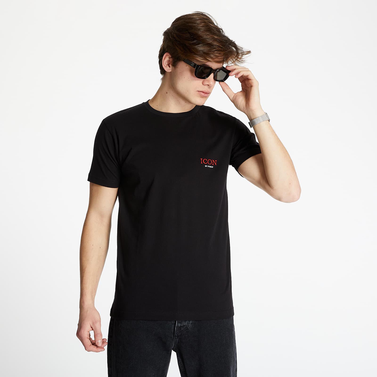 Тениски FTSHP x Rytmus Icon Tee Black