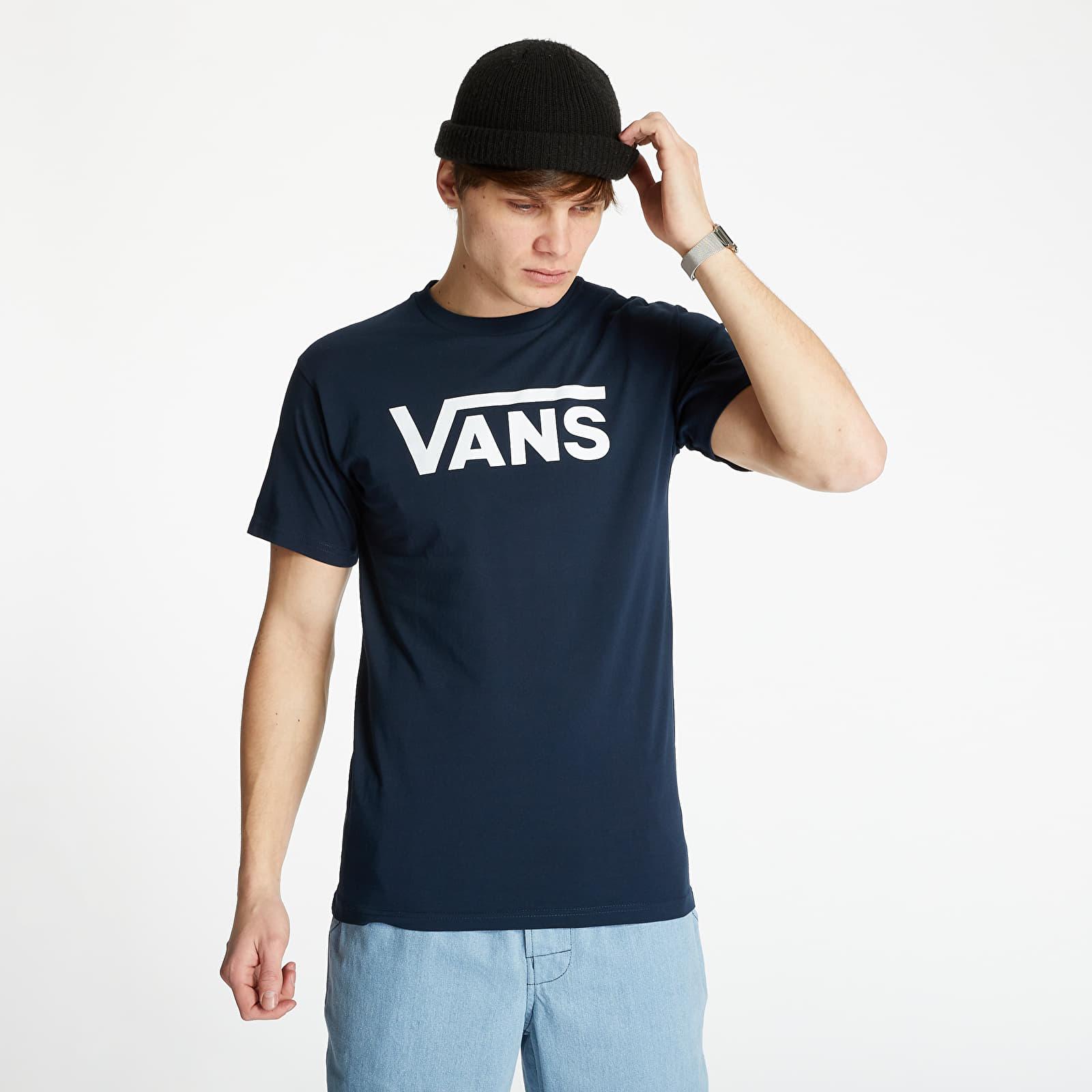 Vans Classic Tee Navy/ White S