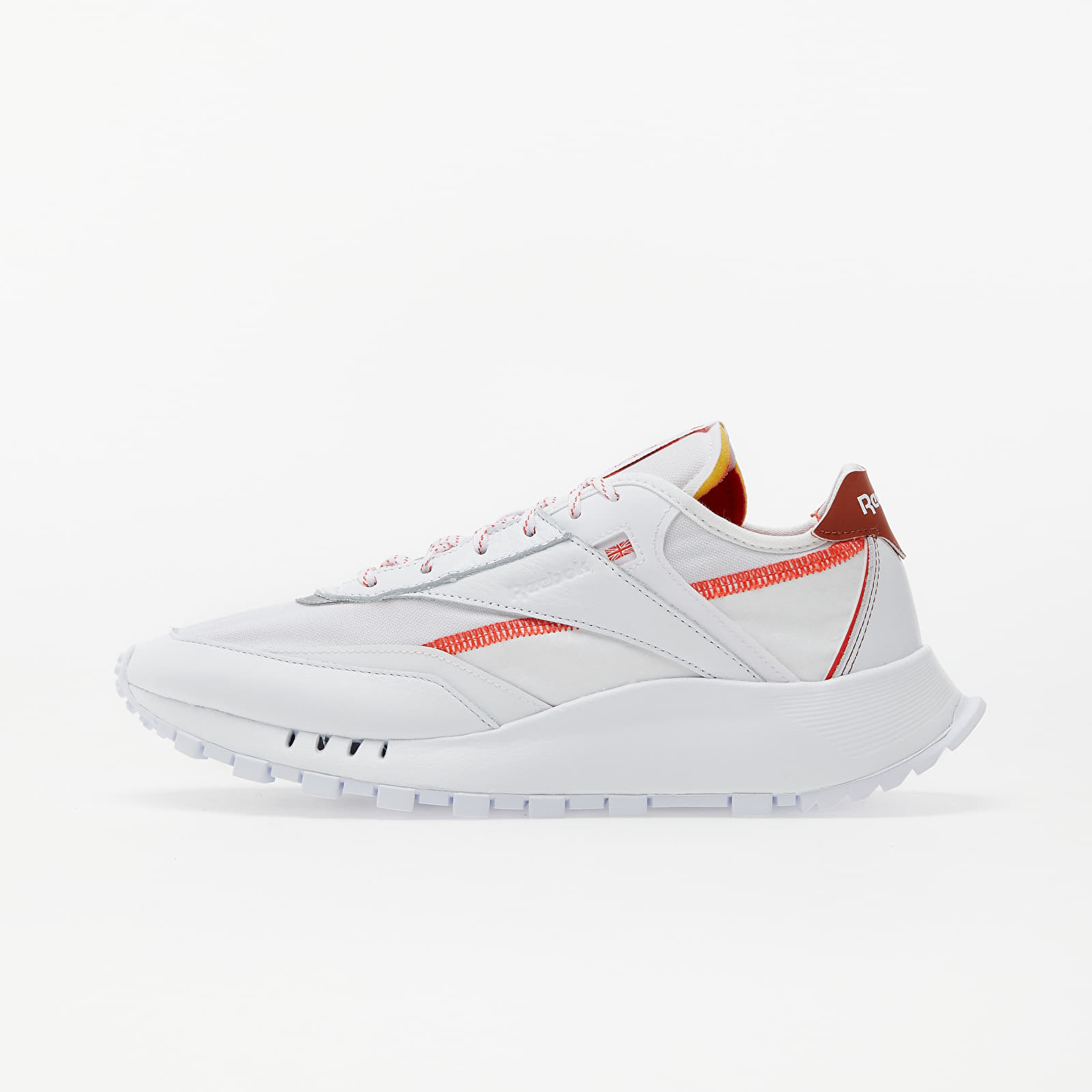 Reebok Classic Legacy Pure White/ Dynamic Red/ Baked Earth EUR 45