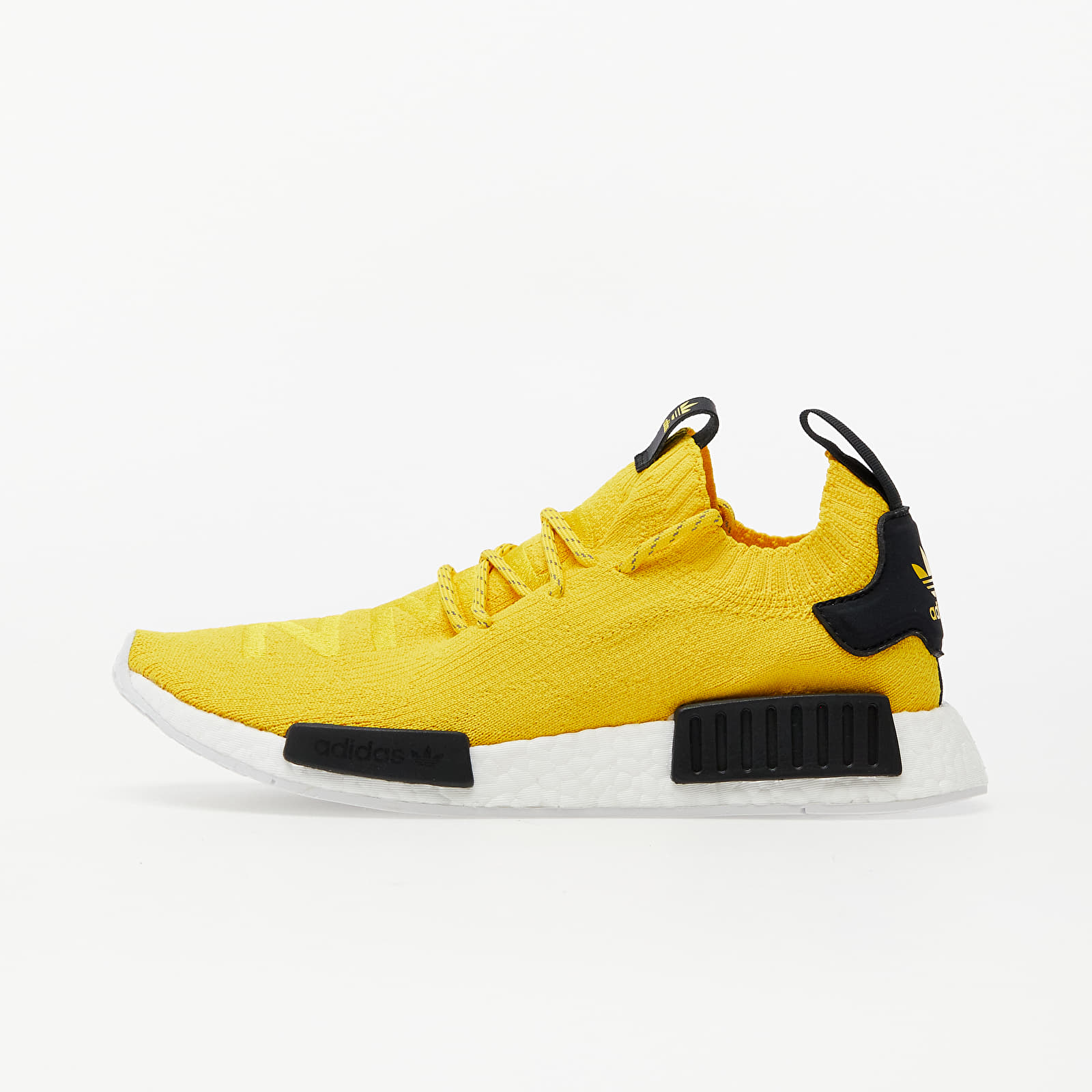Men's shoes adidas NMD_R1 Primeknit Eqt Yellow/ Eqt Yellow/ Core Black