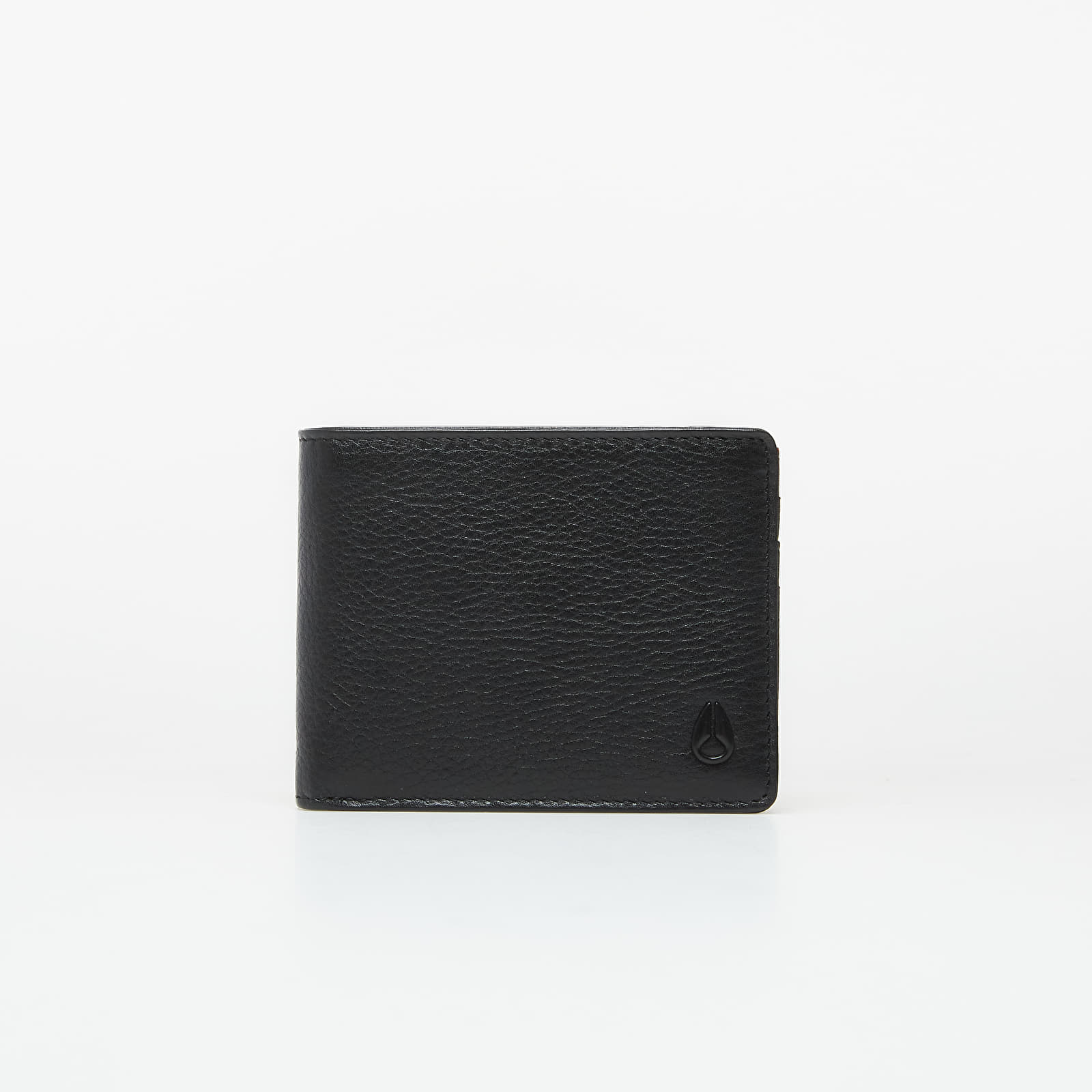 Wallets Nixon Pass Leather Wallet Black