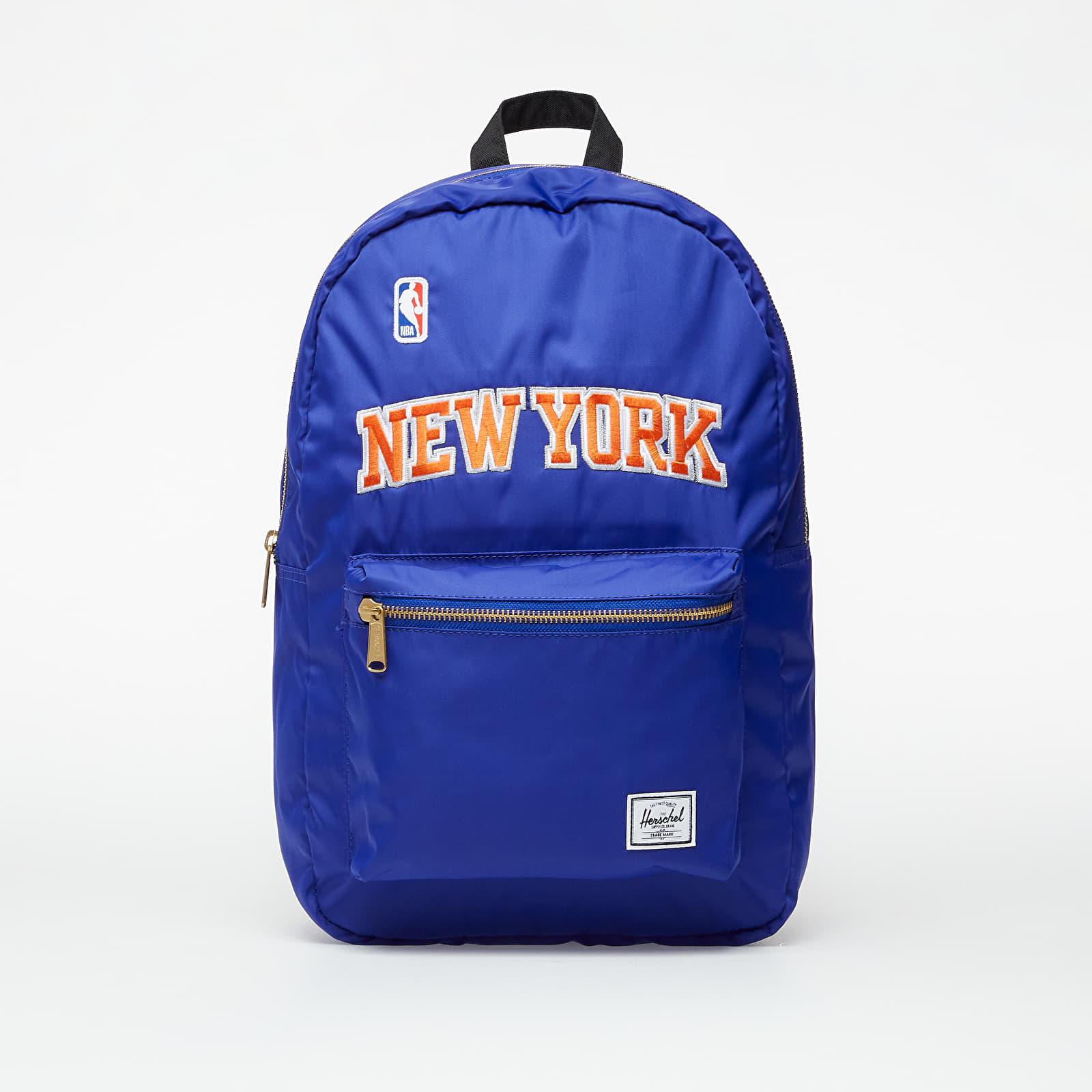 Rucksäcke Herschel Supply Co. NBA Champions Settlement Backpack New York Knicks Blue/ Orange