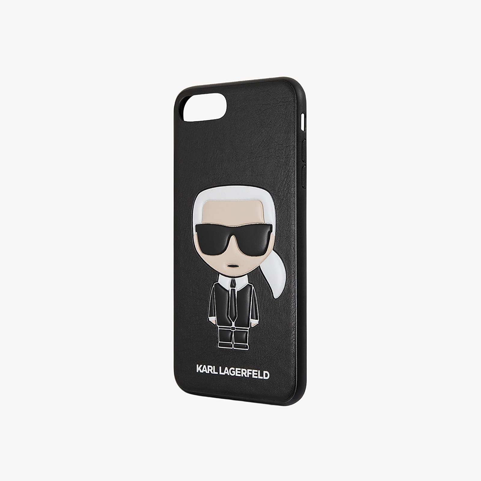 Karl Lagerfeld Cover Ikonik iPhone 7/8 Plus Black Universal