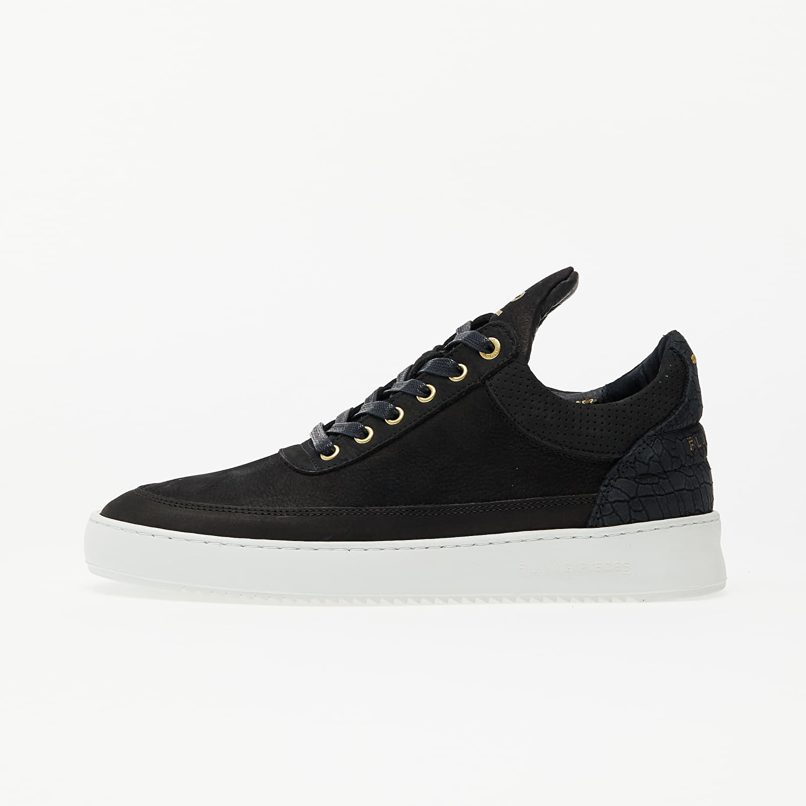 Men's shoes Filling Pieces Low Top Ripple Ceres Black