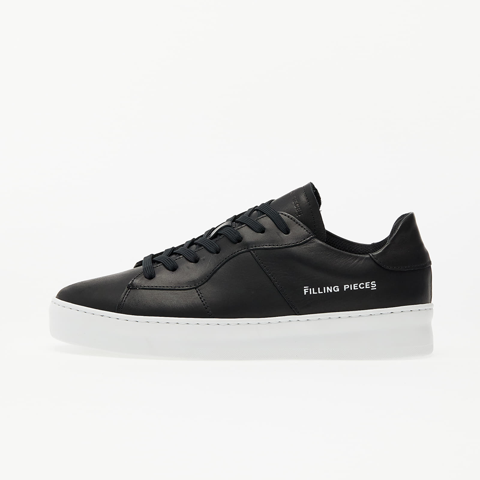 Men's shoes Filling Pieces Light Plain Court Black/ Black