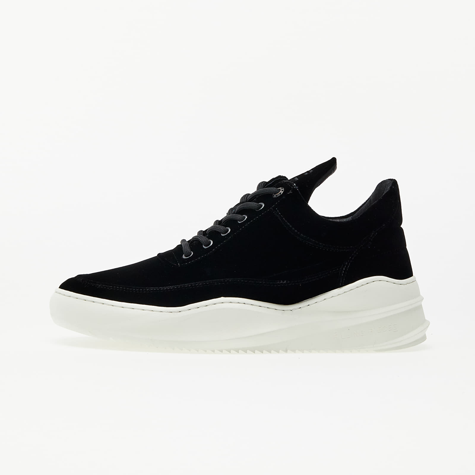 Buty męskie Filling Pieces Low Top Sky Velvet Black