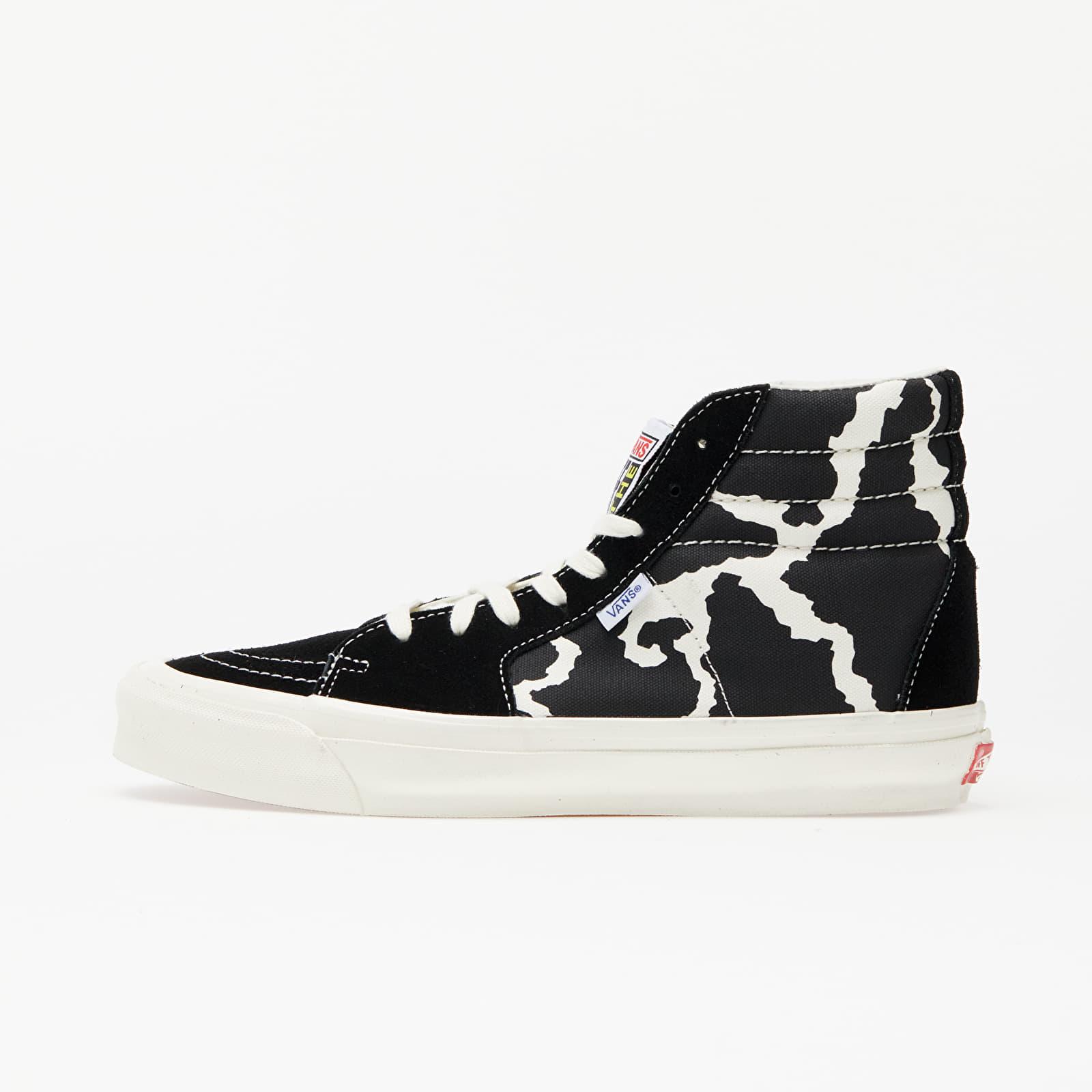 Férfi cipők Vans OG Style 38 NS LX (Suede/ Canvas) Classic White/ Black/ Marshmallow