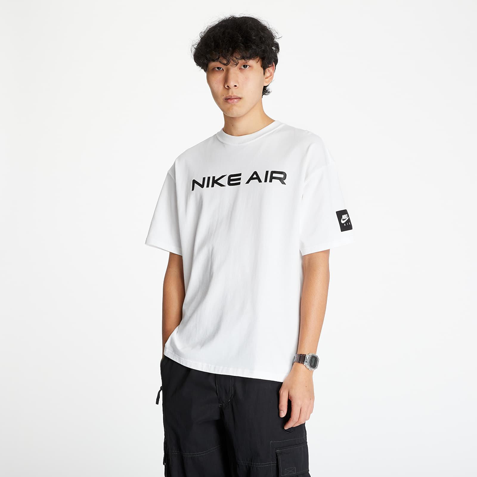 Tričká Nike Sportswear Tee Nike Air Hybrid White