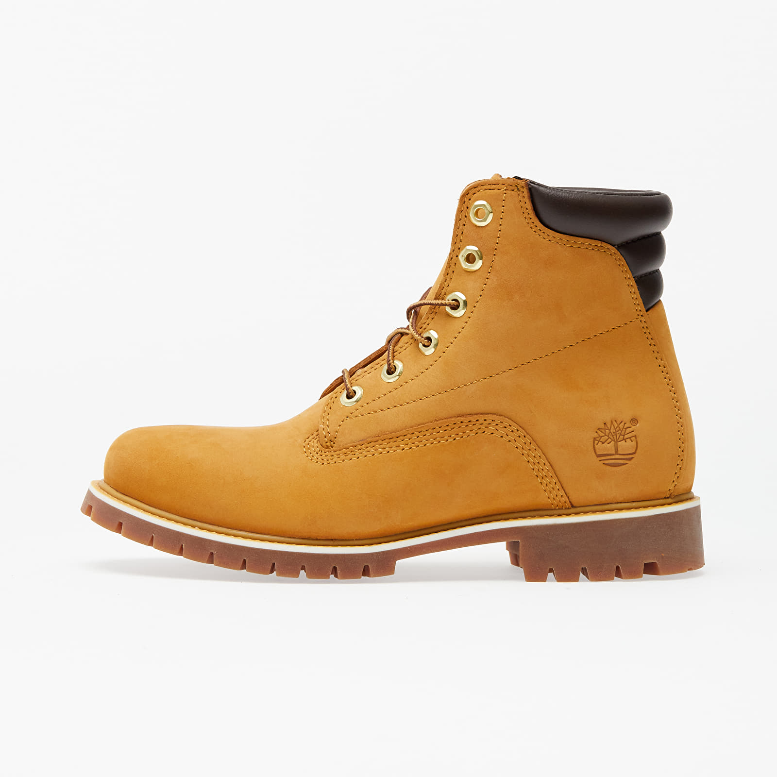 Chaussures et baskets homme Timberland Alburn 6In Waterproof Boot Wheat Nubuck
