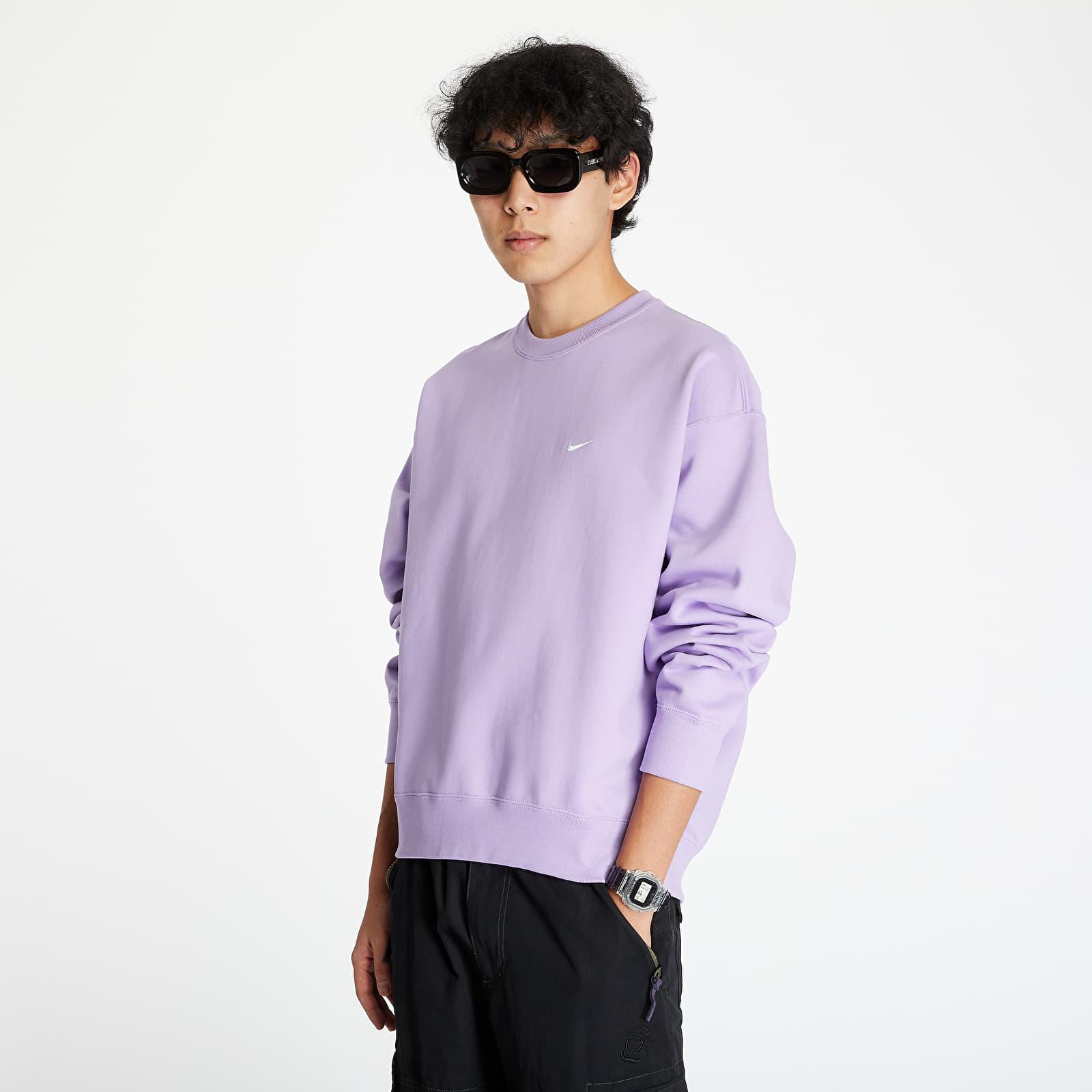 Sweatshirts Nike Nrg SoloSwoosh Crew Fleece Urban Lilac/ White