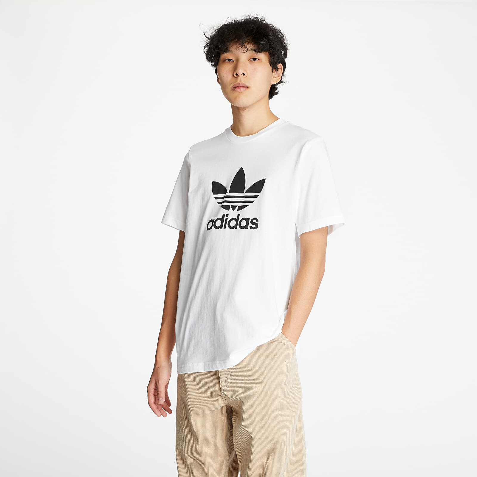 T-shirts adidas Trefoil Shortsleeve Tee White