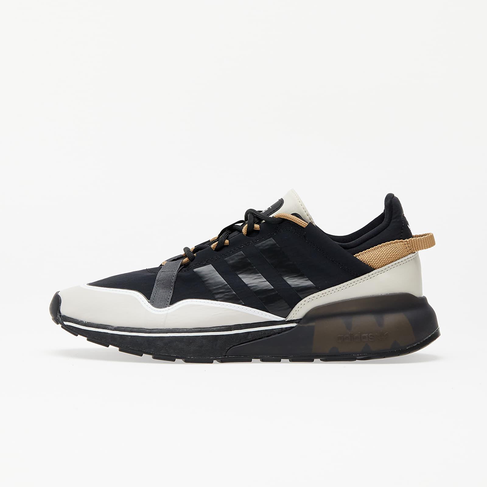 Încălțăminte și sneakerși pentru bărbați adidas ZX 2K BOOST Pure Core Black/ Clear Brown/ Cardboard