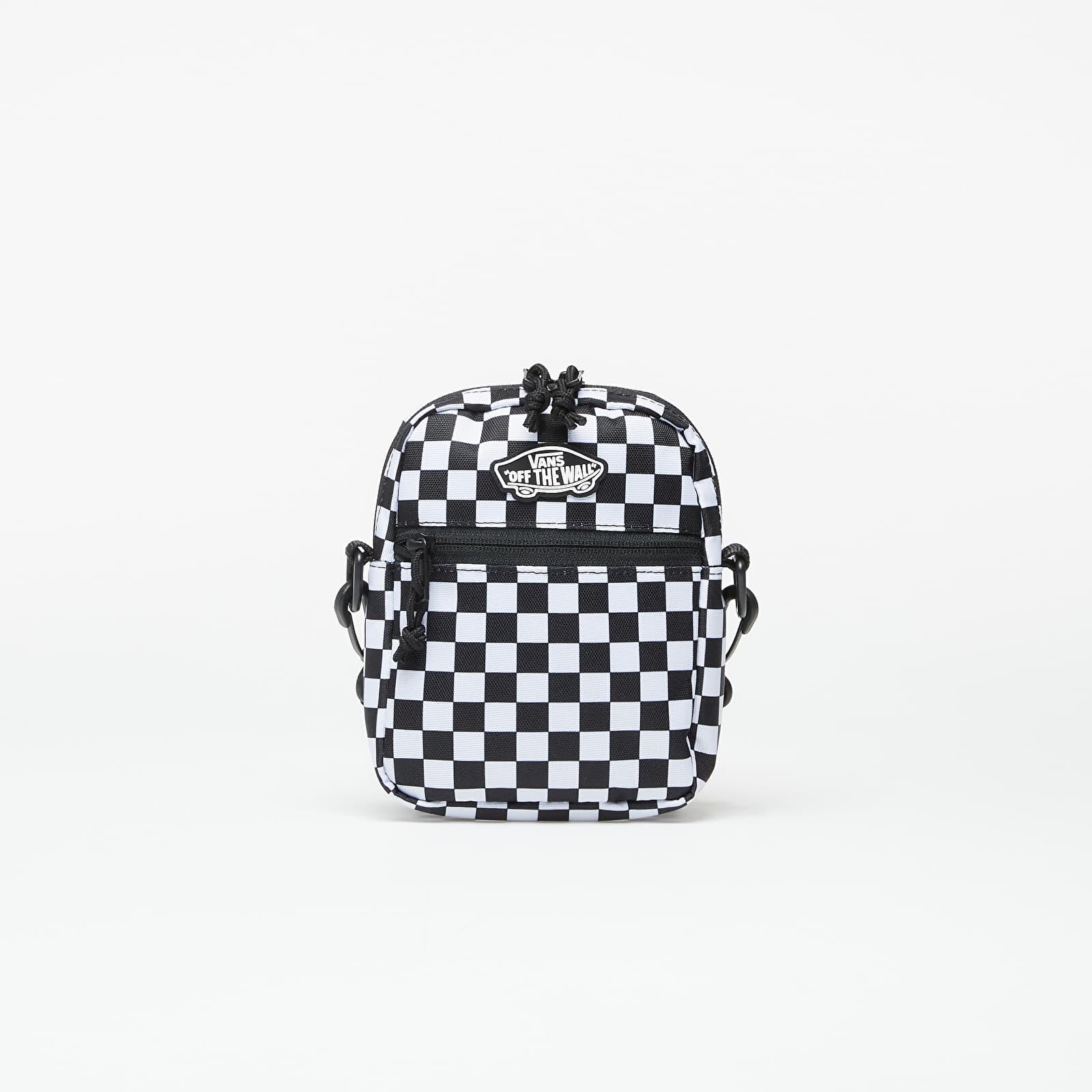 Tašky přes rameno Vans Street Ready II Crossbody Black/ White Checkerboard