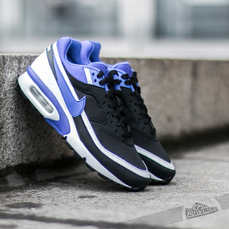 new product c517c 428b2 Nike Wmns Air Max Bw Black  Persian Violet - White