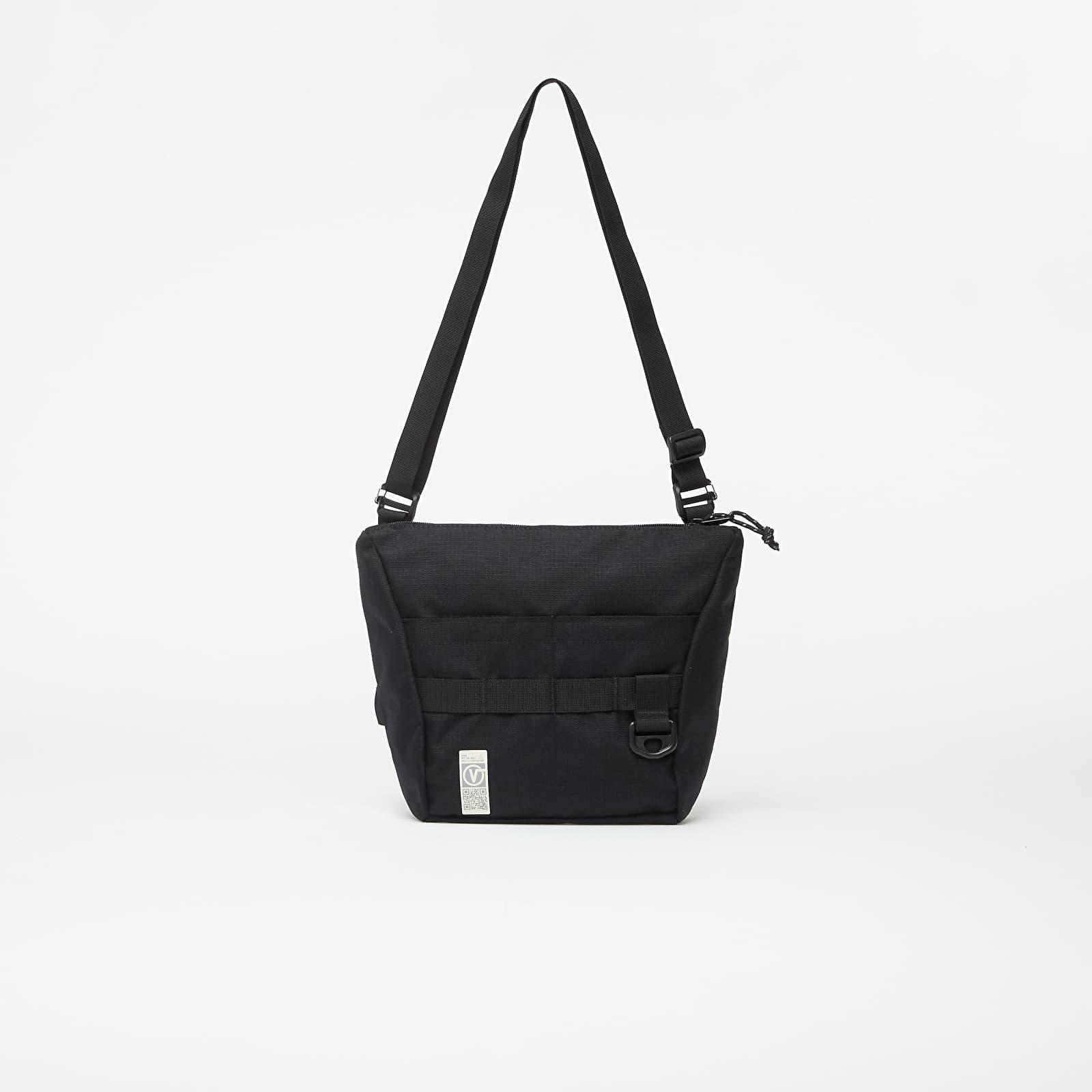 Tašky cez rameno Vans Quick Response Shoulder Bag Black Ripstop