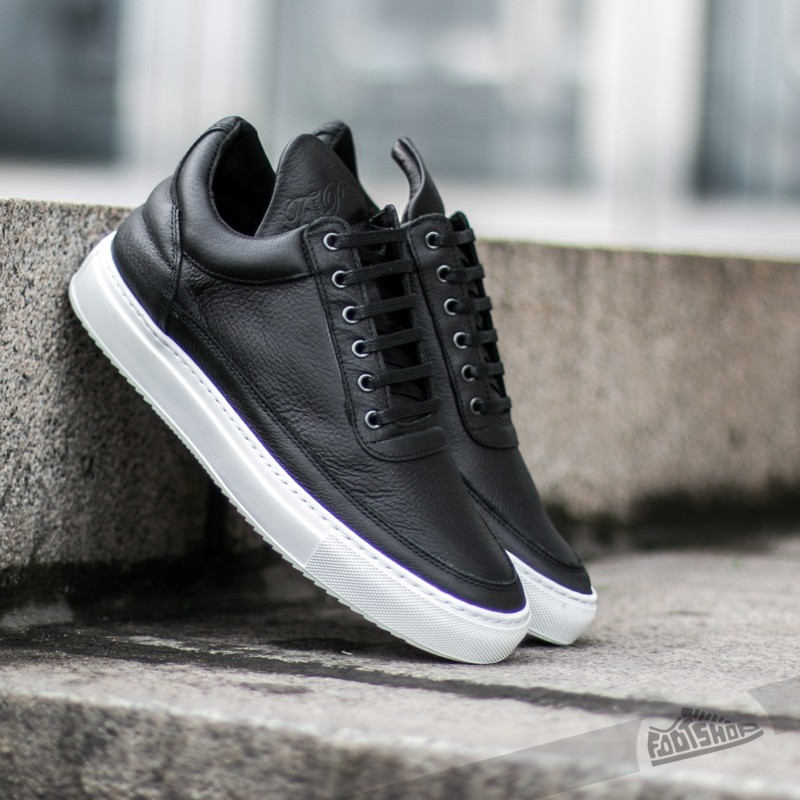 d79eea1fb5c927 Filling Pieces Low Top Classic Black