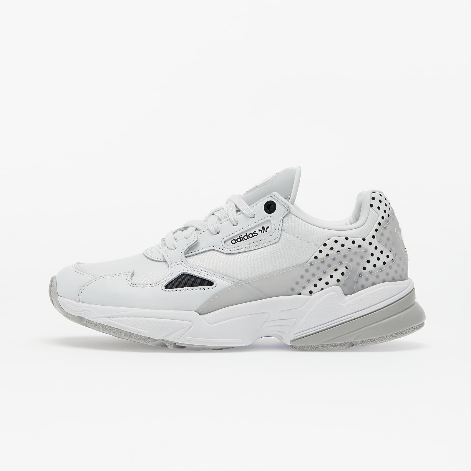 Women's shoes adidas Falcon W Crystal White/ Core Black/ Grey Two