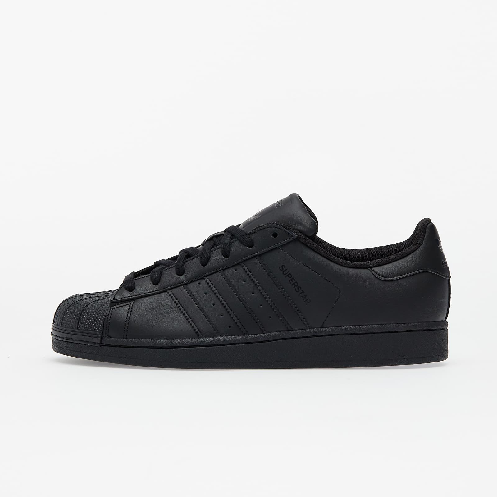 Männer adidas Superstar Core Black/ Core Black/ Core Black