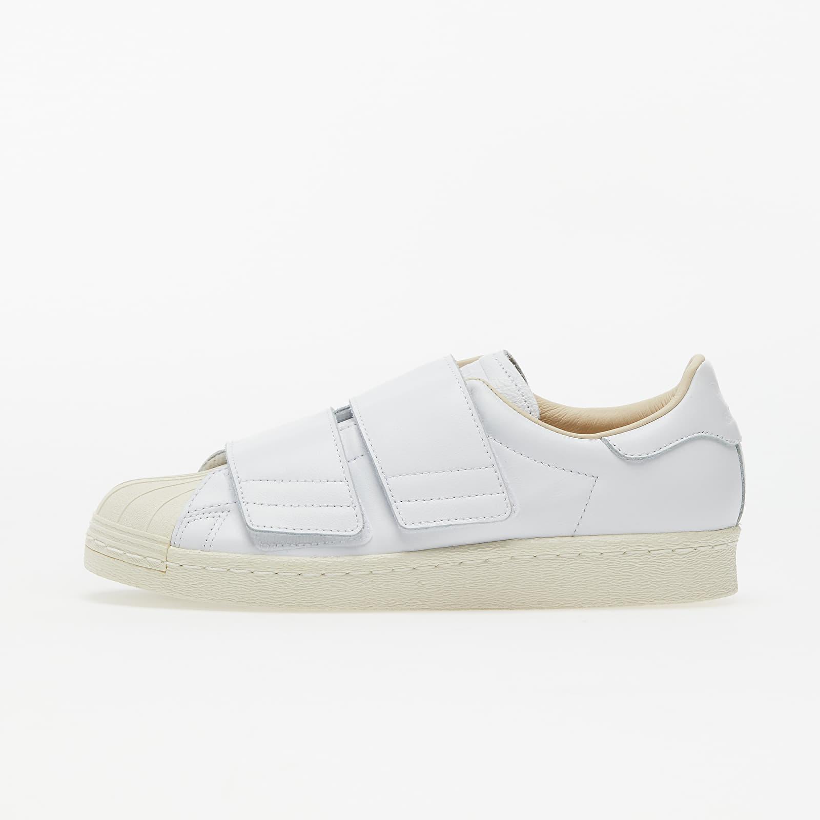 Încălțăminte și sneakerși pentru femei adidas Superstar 80s CF W Ftw White/ Ftw White/ Linen