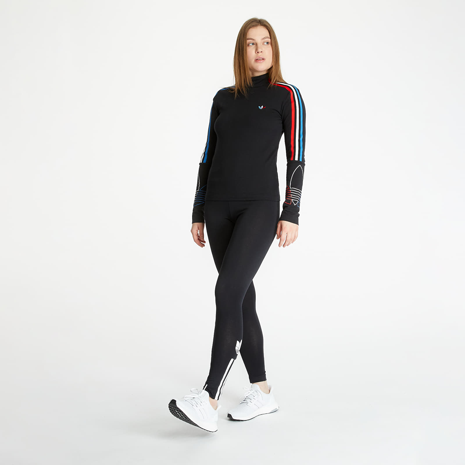 T-shirts adidas Longsleeve Tee Black