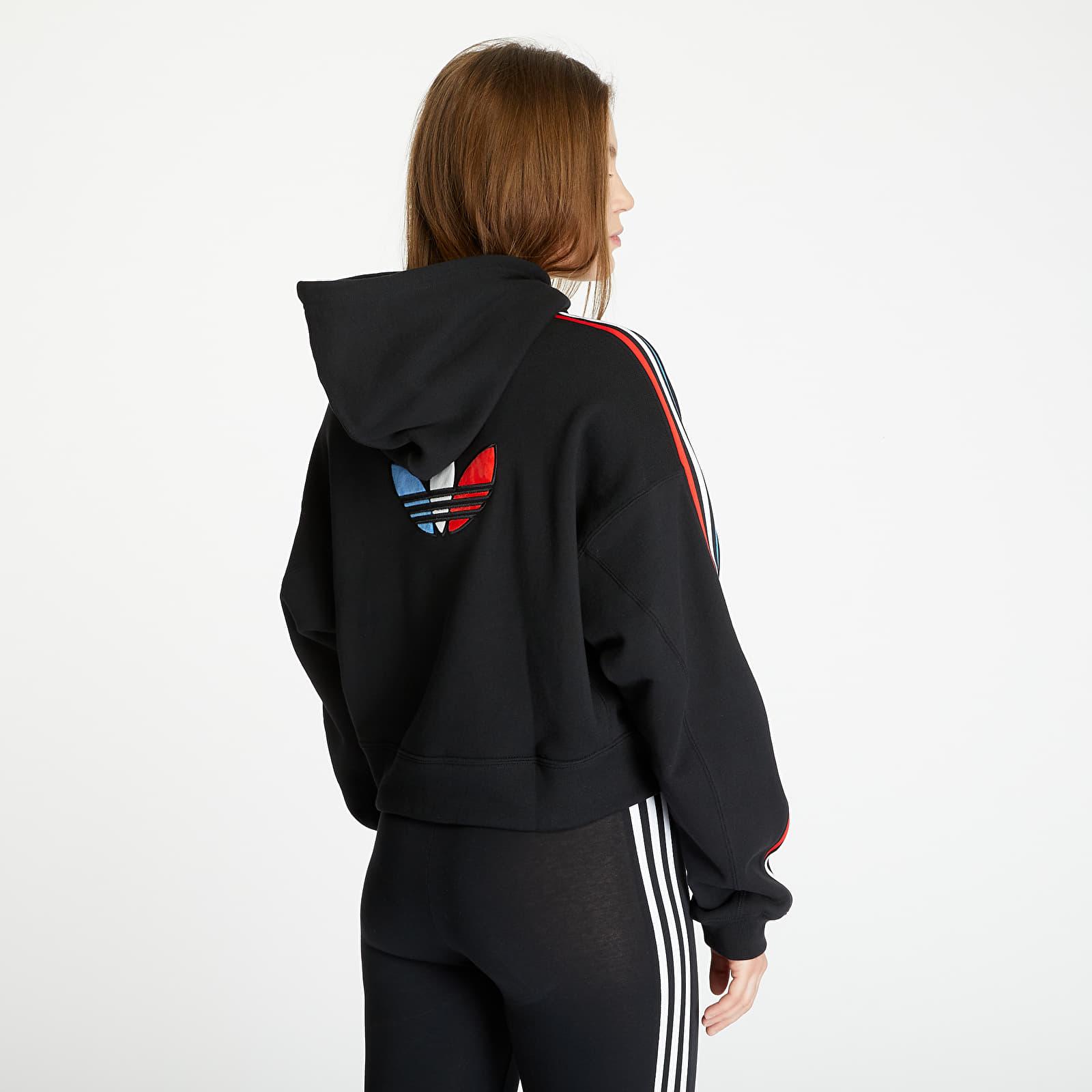 Sweatshirts adidas Short Hoodie Black