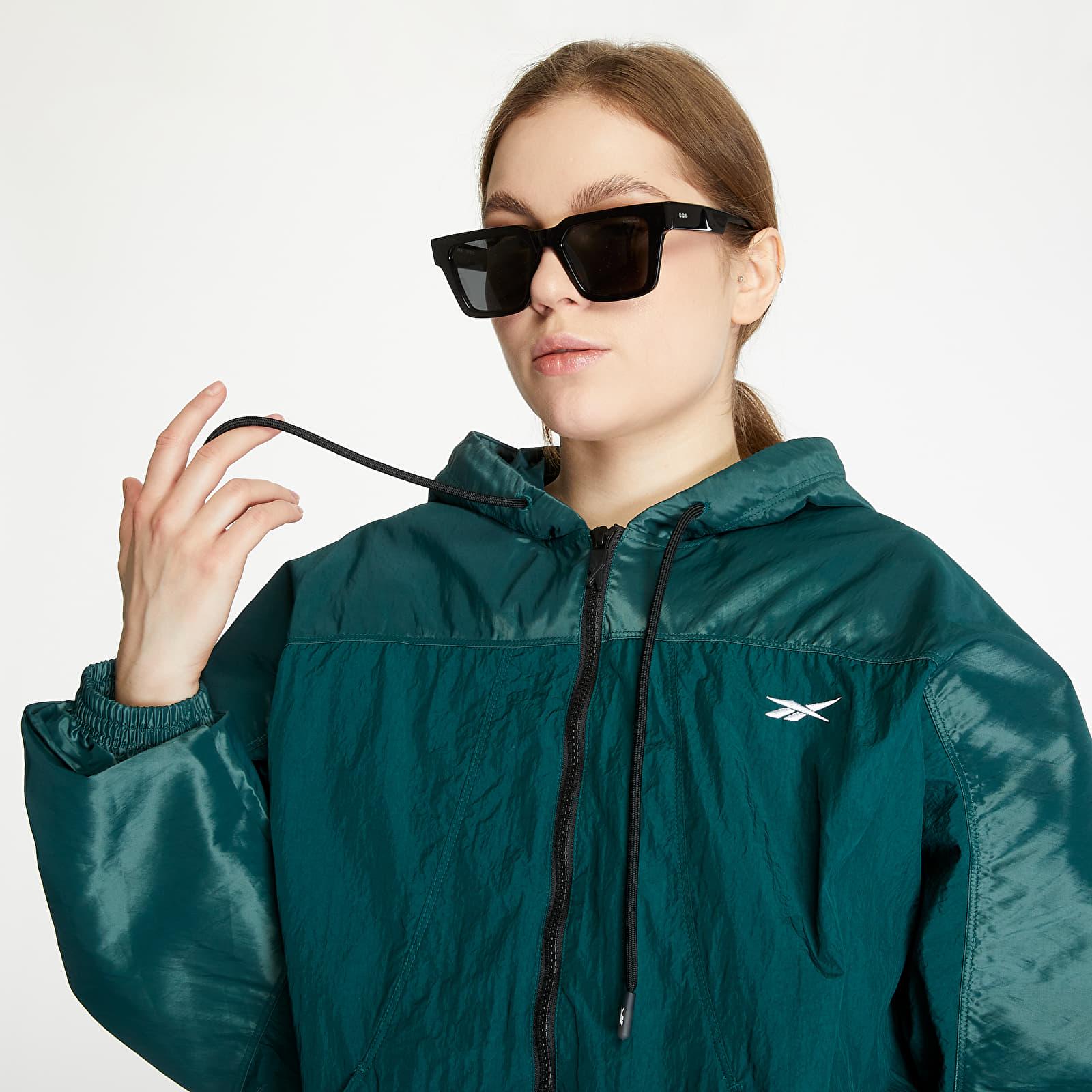Vestes Reebok Shiny Woven Jacket Forest Green