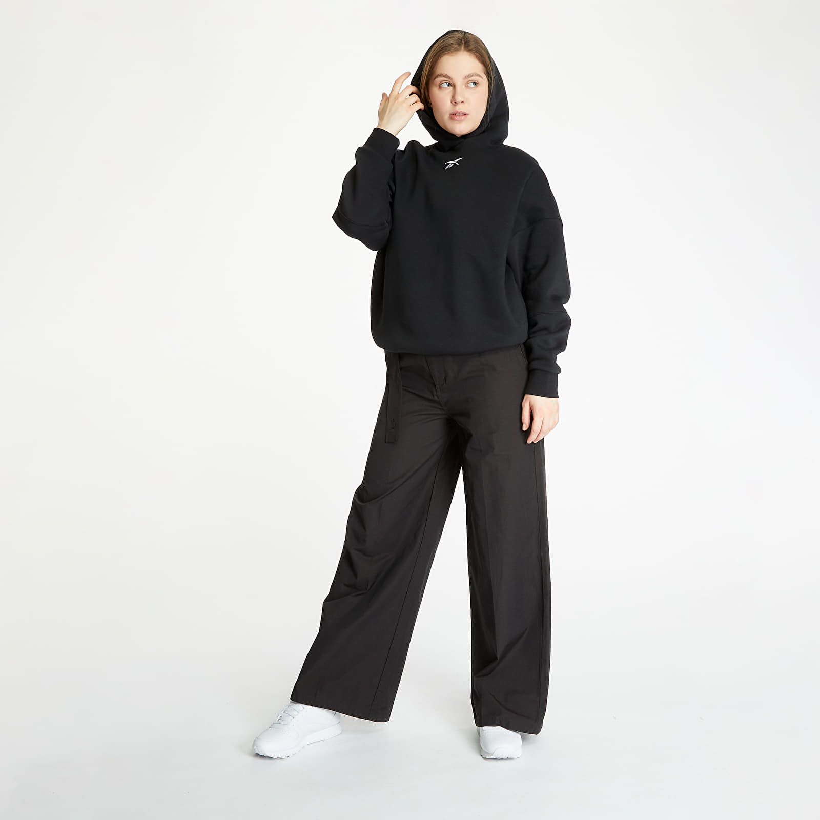 Sweatshirts Reebok Retro Oversize Hoodie Black