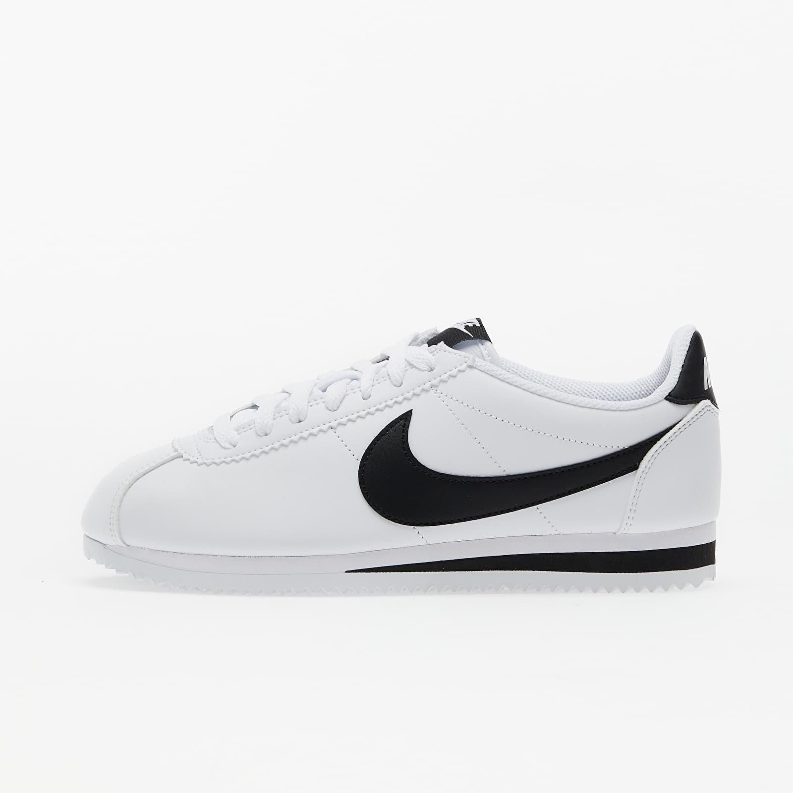 Nike Wmns Classic Cortez Leather White/ Black-White EUR 36